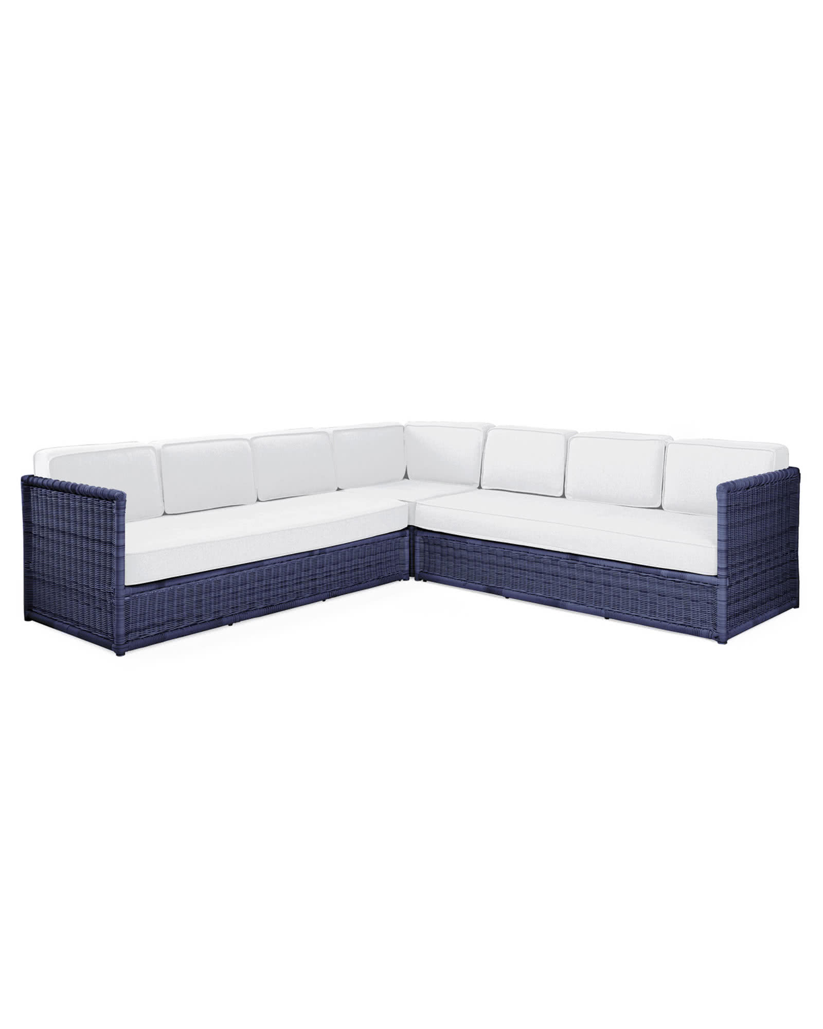 Pacifica Corner Sectional - Navy