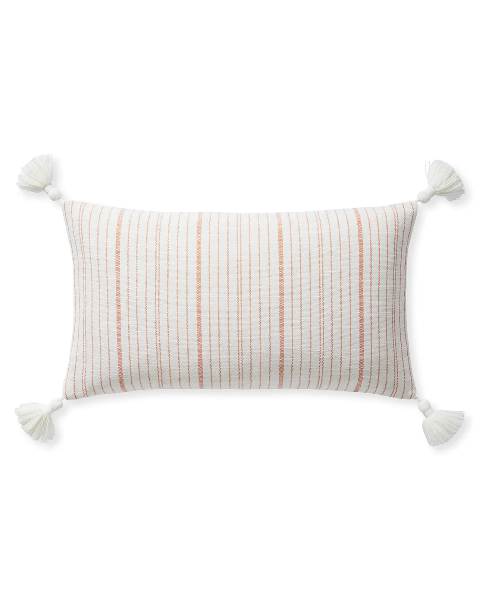 Surf Stripe Pillow Cover - Orange,