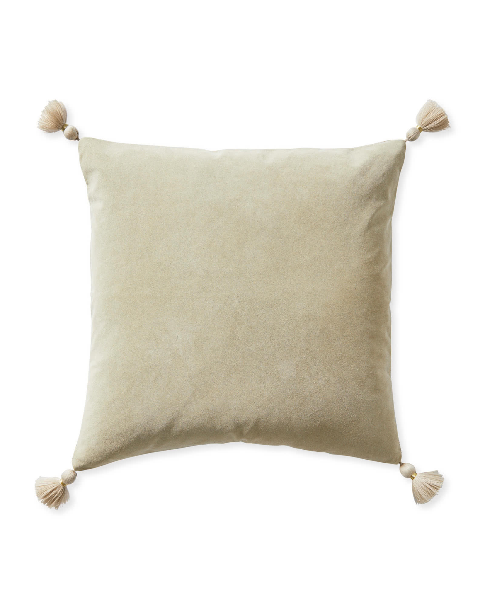 Suede Eva Pillow Cover, Sand