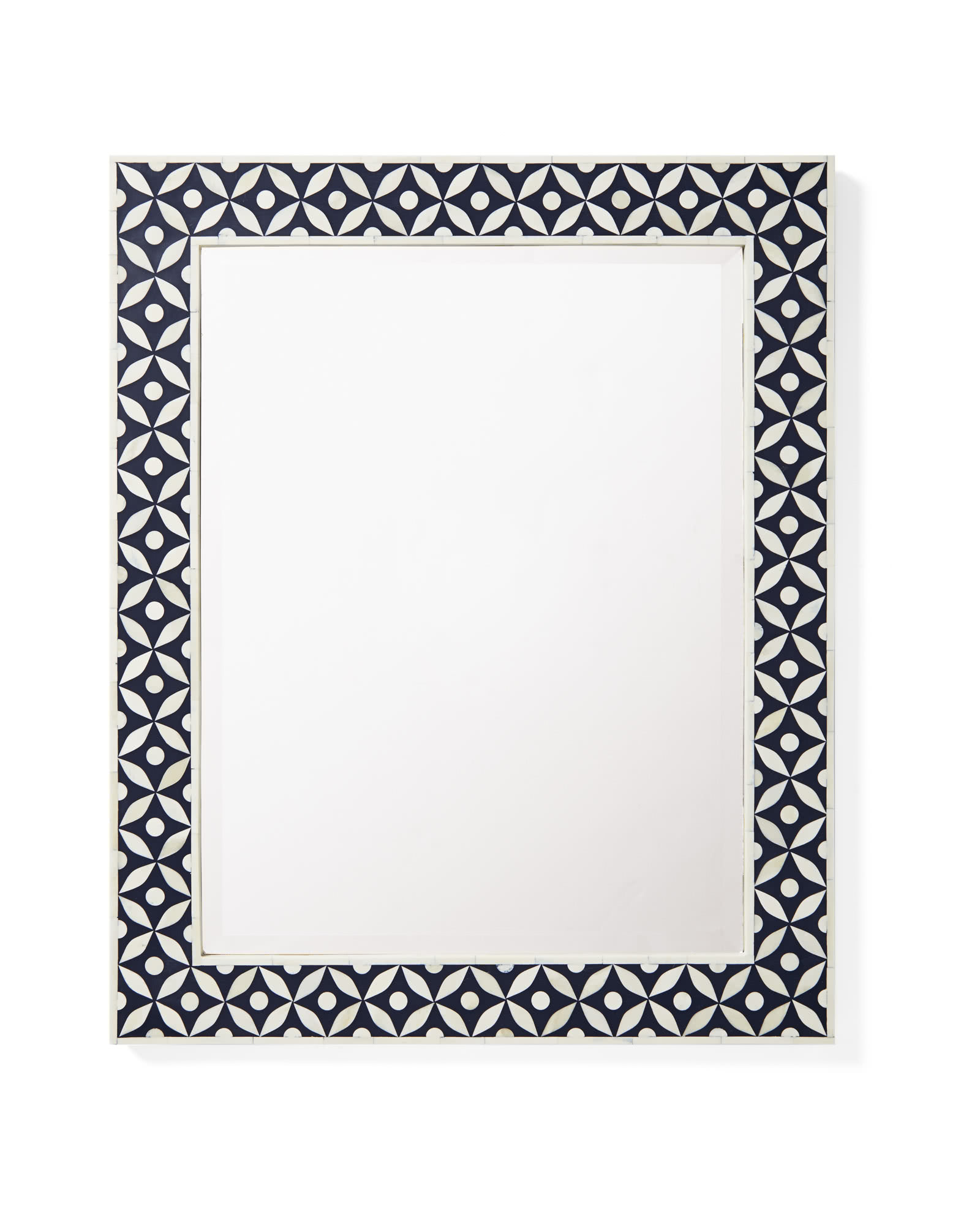 Portland Bone Inlay Mirror,