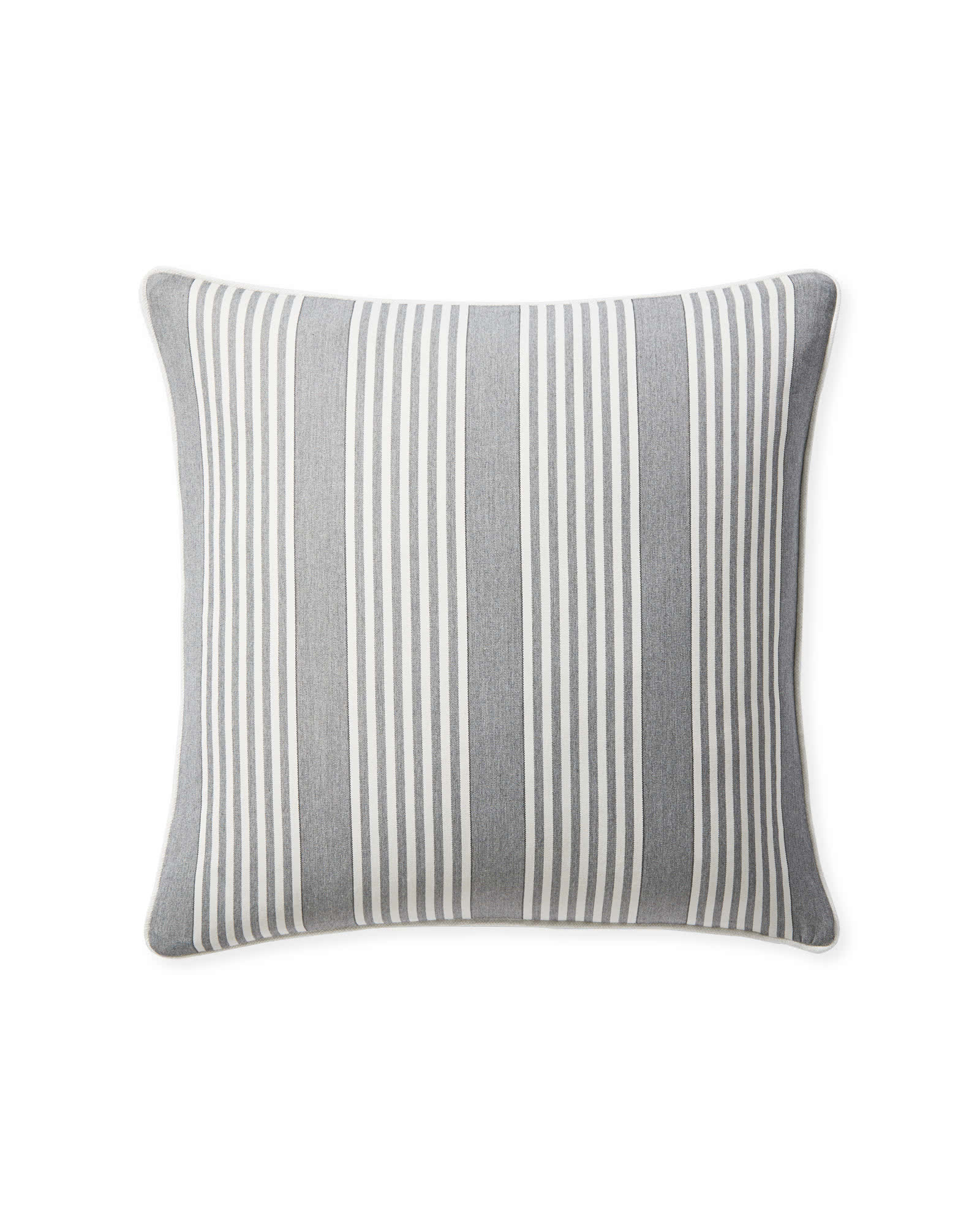 Perennials® Cabana Stripe Pillow Cover, Platinum