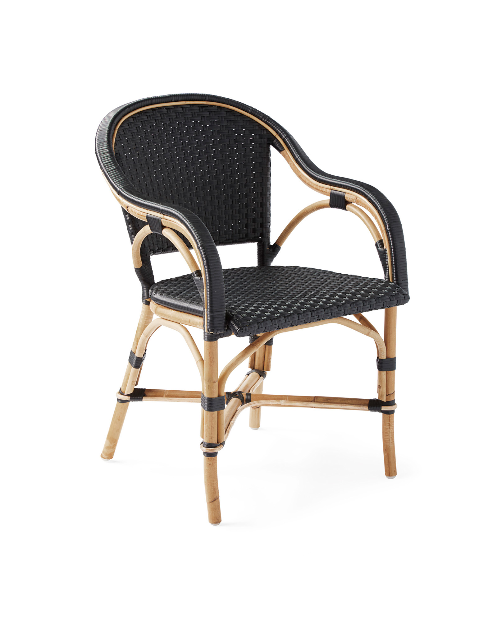 Riviera Dining Chair, Black