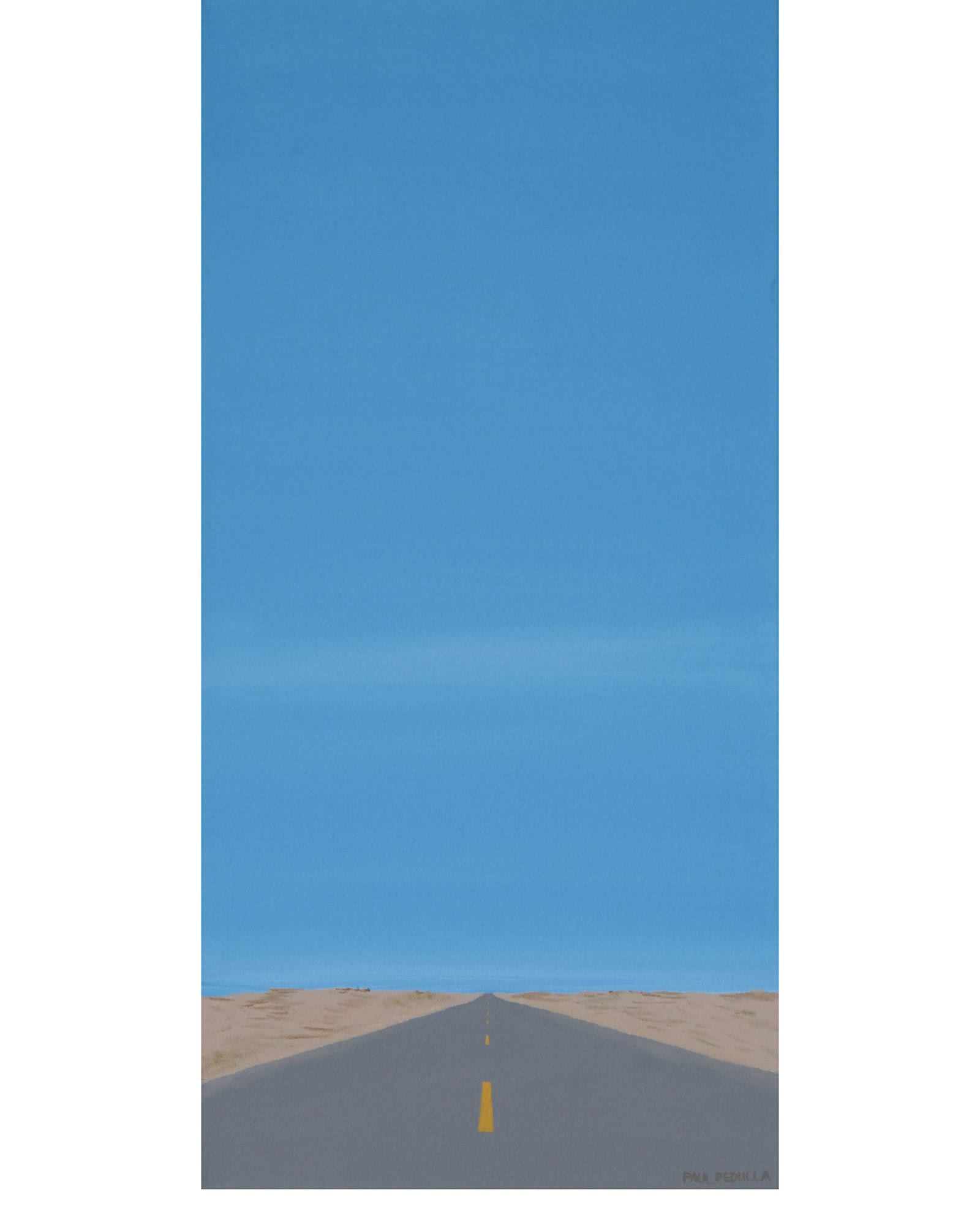 """Road, Sand and Sky"" by Paul Pedulla,"