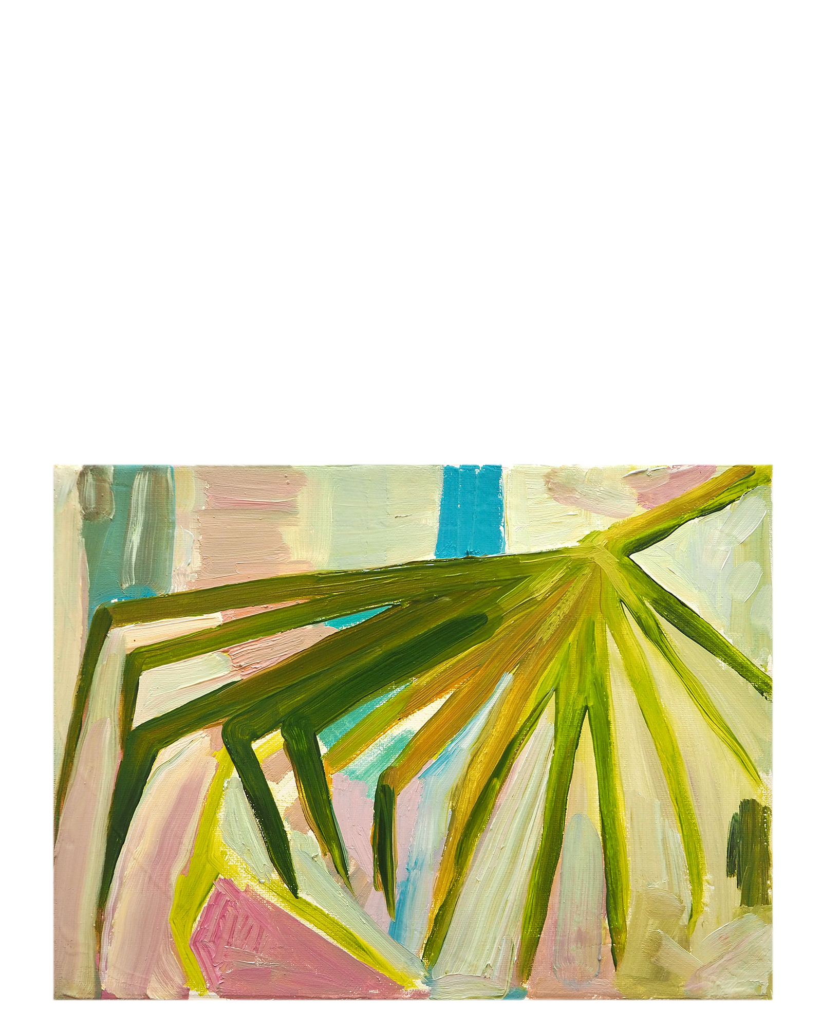 Spindly Frond by Claire Elliott,
