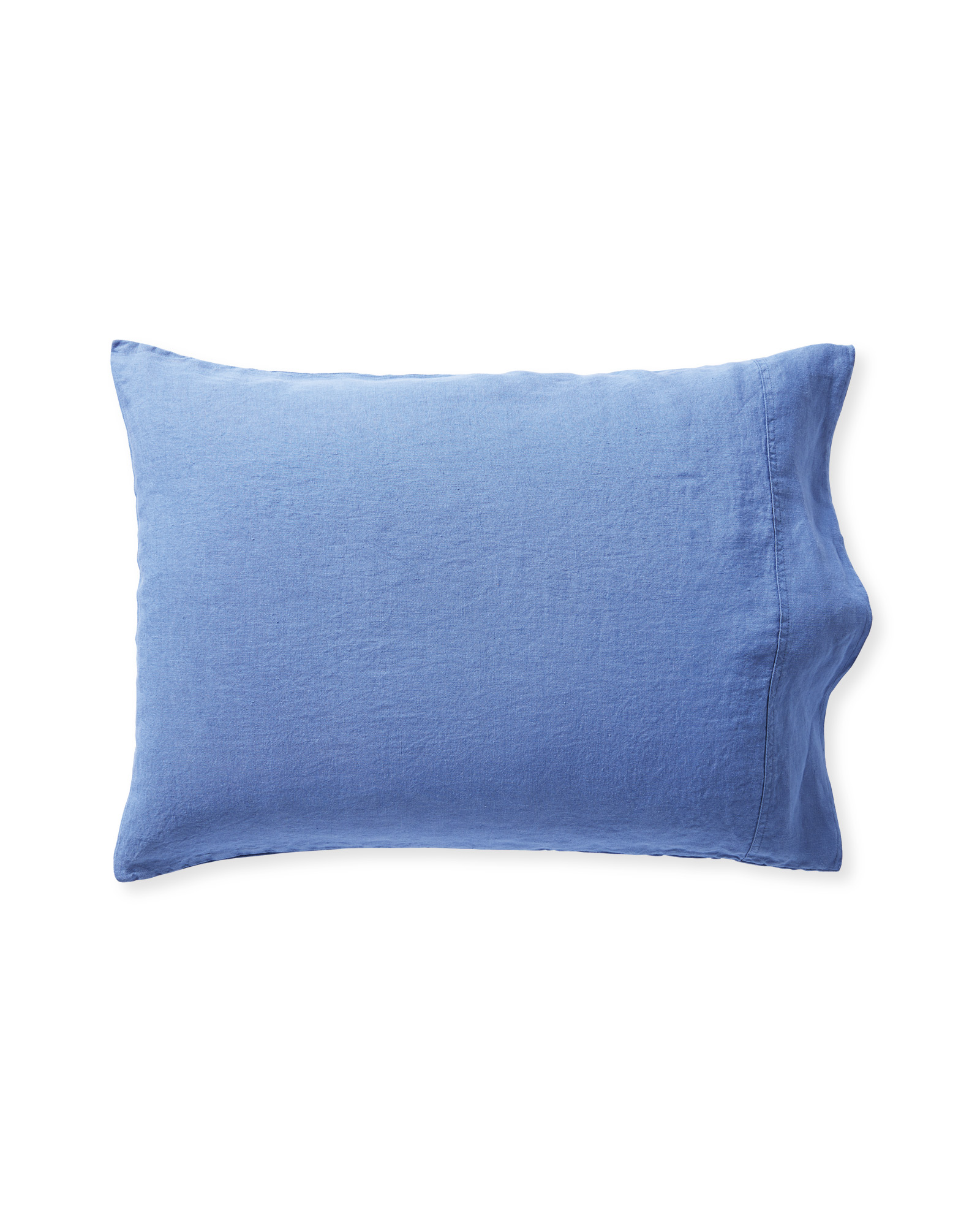 Positano Linen Pillowcases (Extra Set of 2), French Blue
