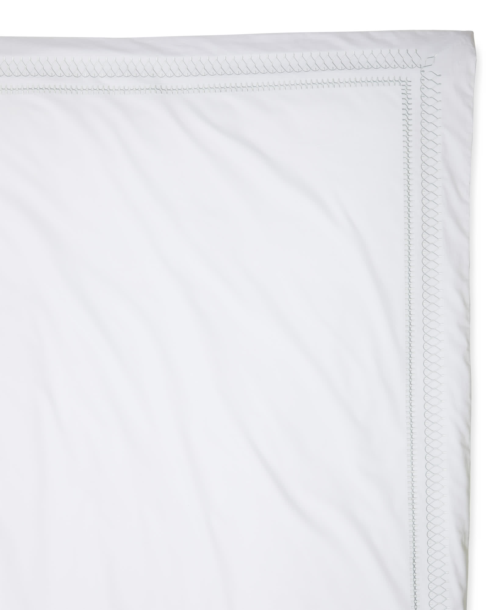 Laurel Duvet Cover - Seaglass,