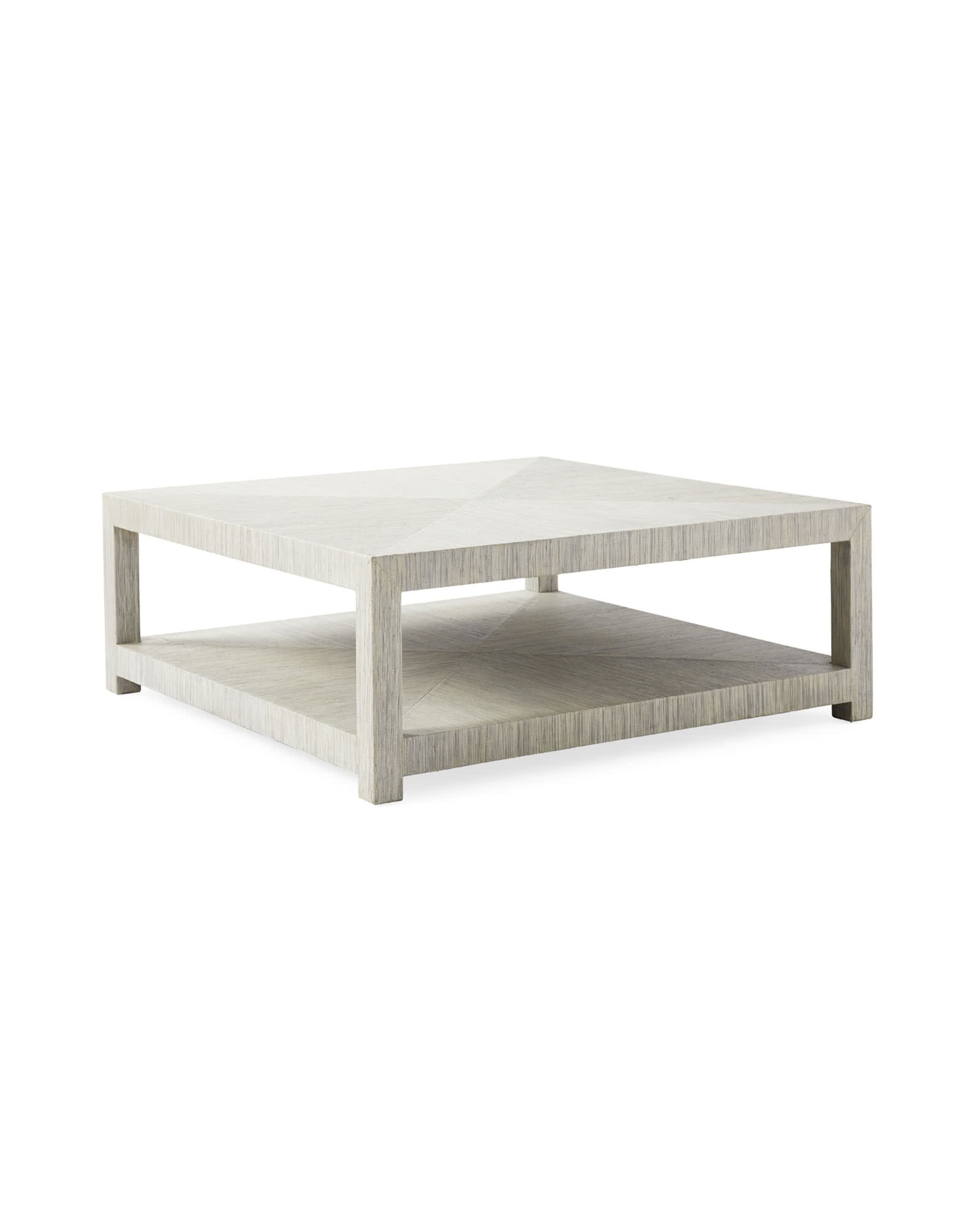 Blake Square Coffee Table, Fog