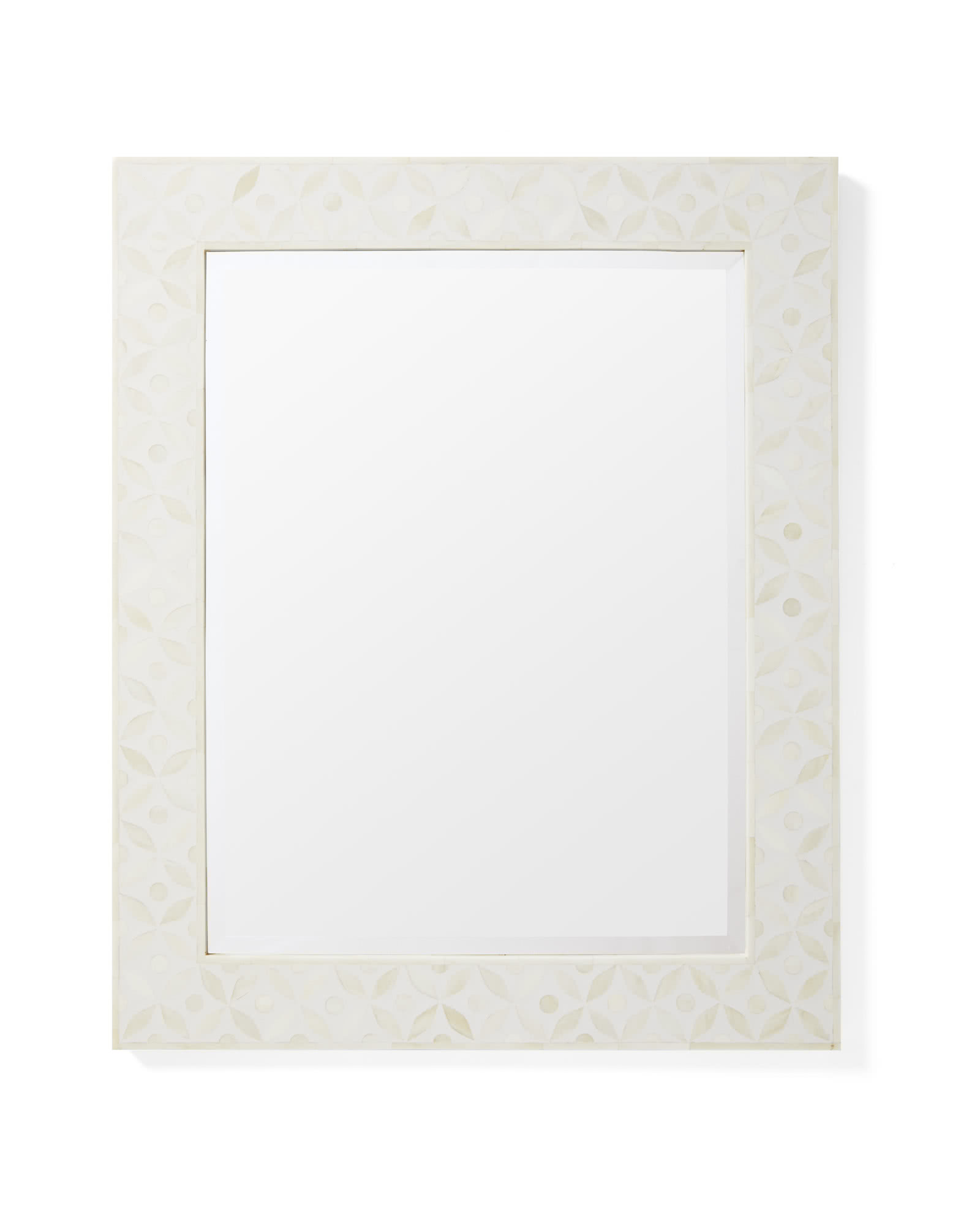 Portland Bone Inlay Mirror, Natural