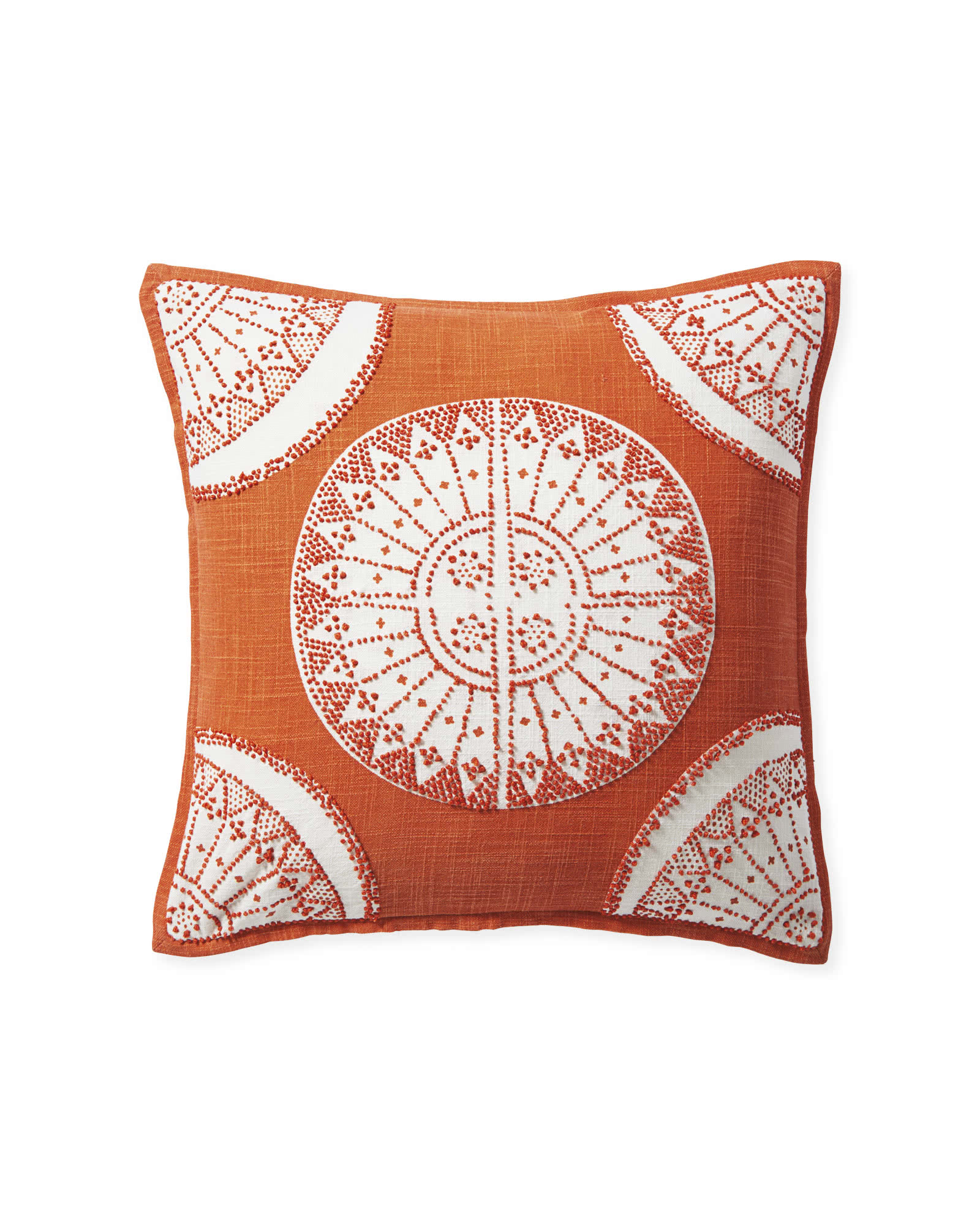 Lucia Pillow Cover, Papaya