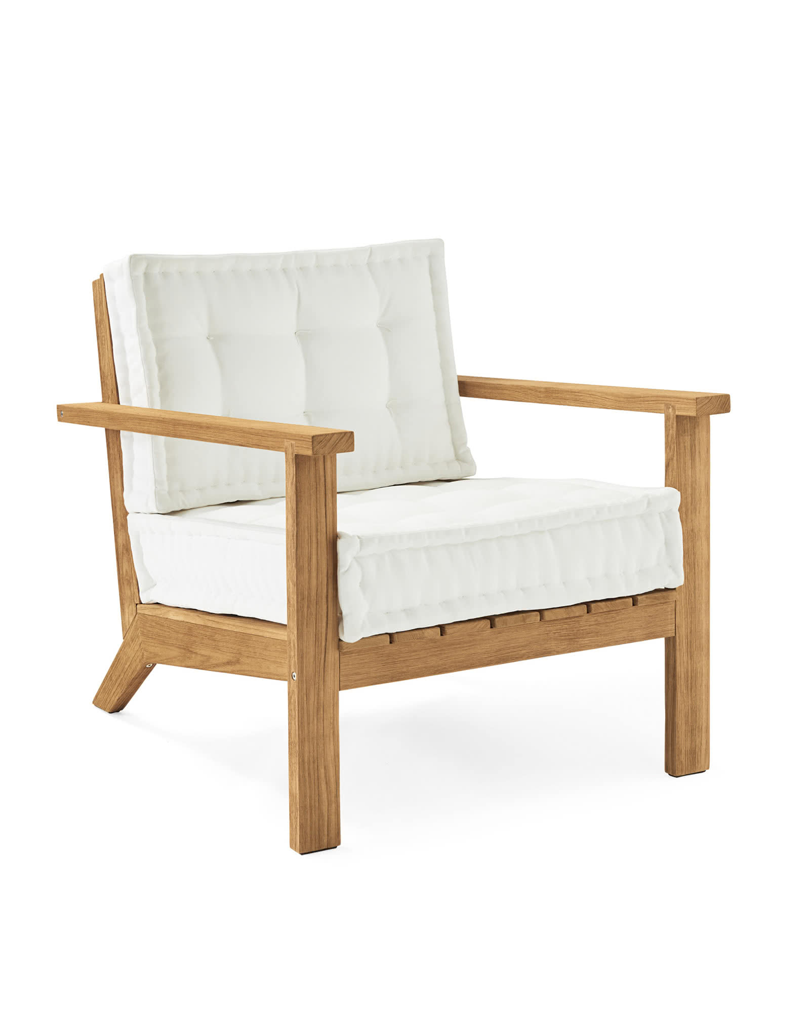 Cliffside Teak Lounge Chair,