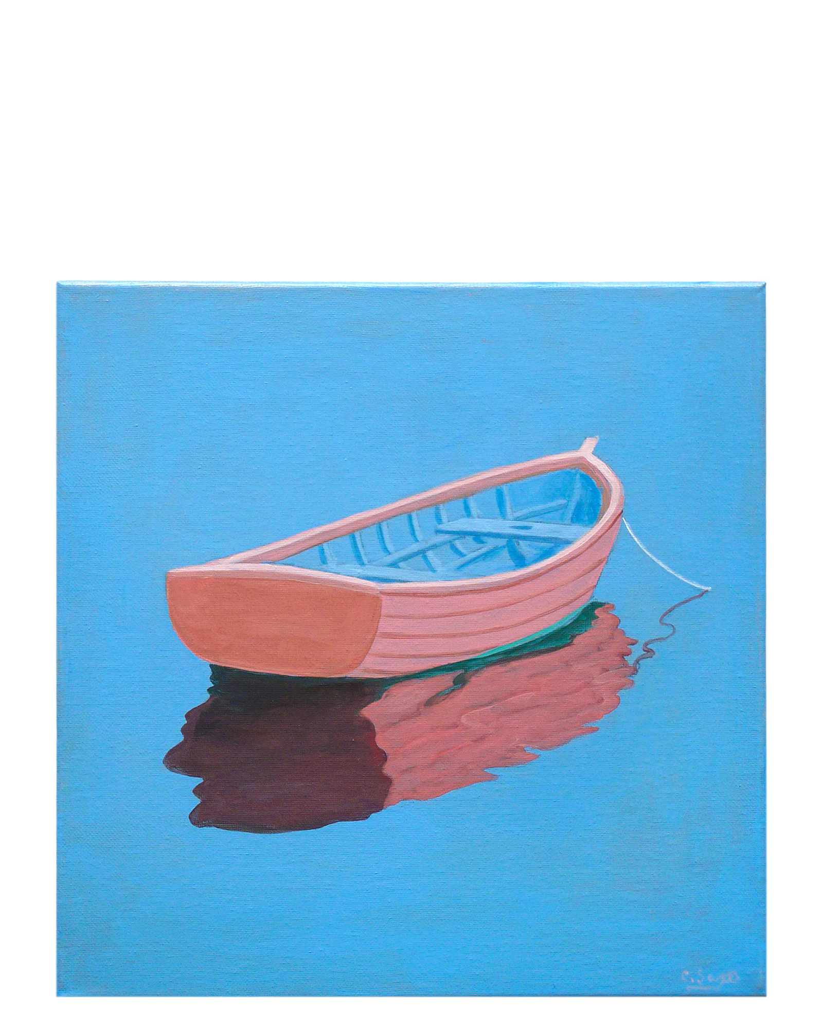 """ Rowboat #2"" by Carol Saxe,"