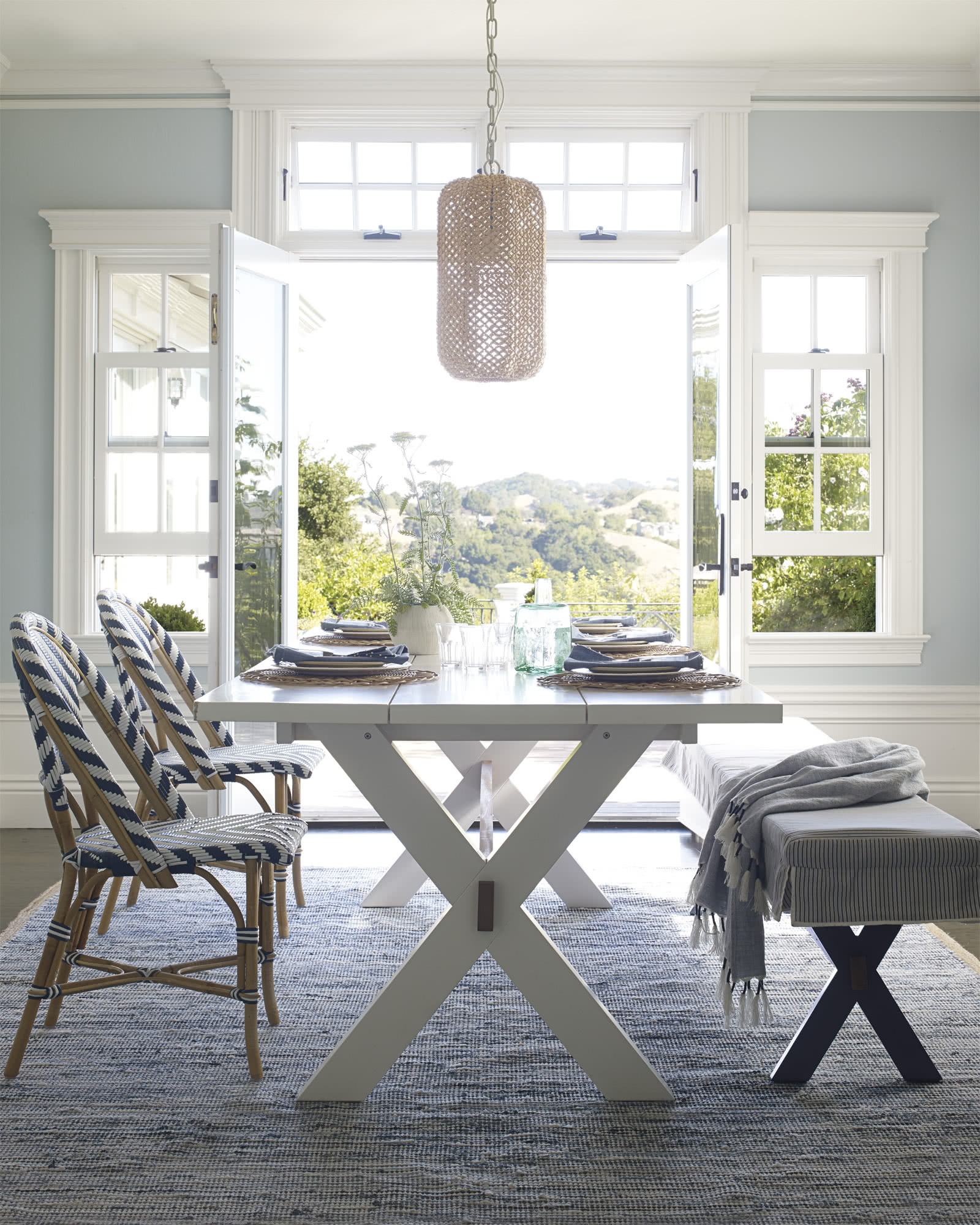California Dining Table Serena Lily & Serena And Lily Dining Chairs - Dining room ideas