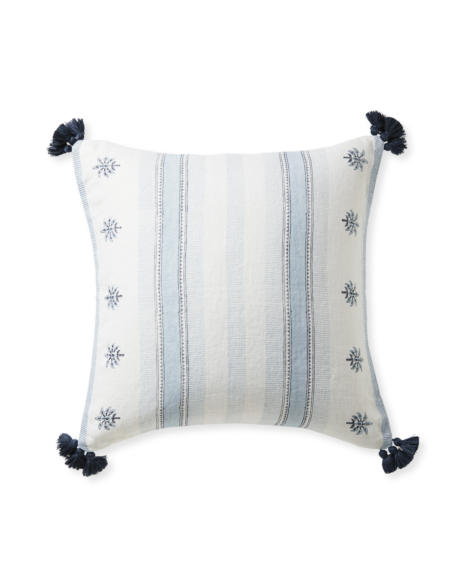 Saltspring Pillow Cover, Coastal Blue