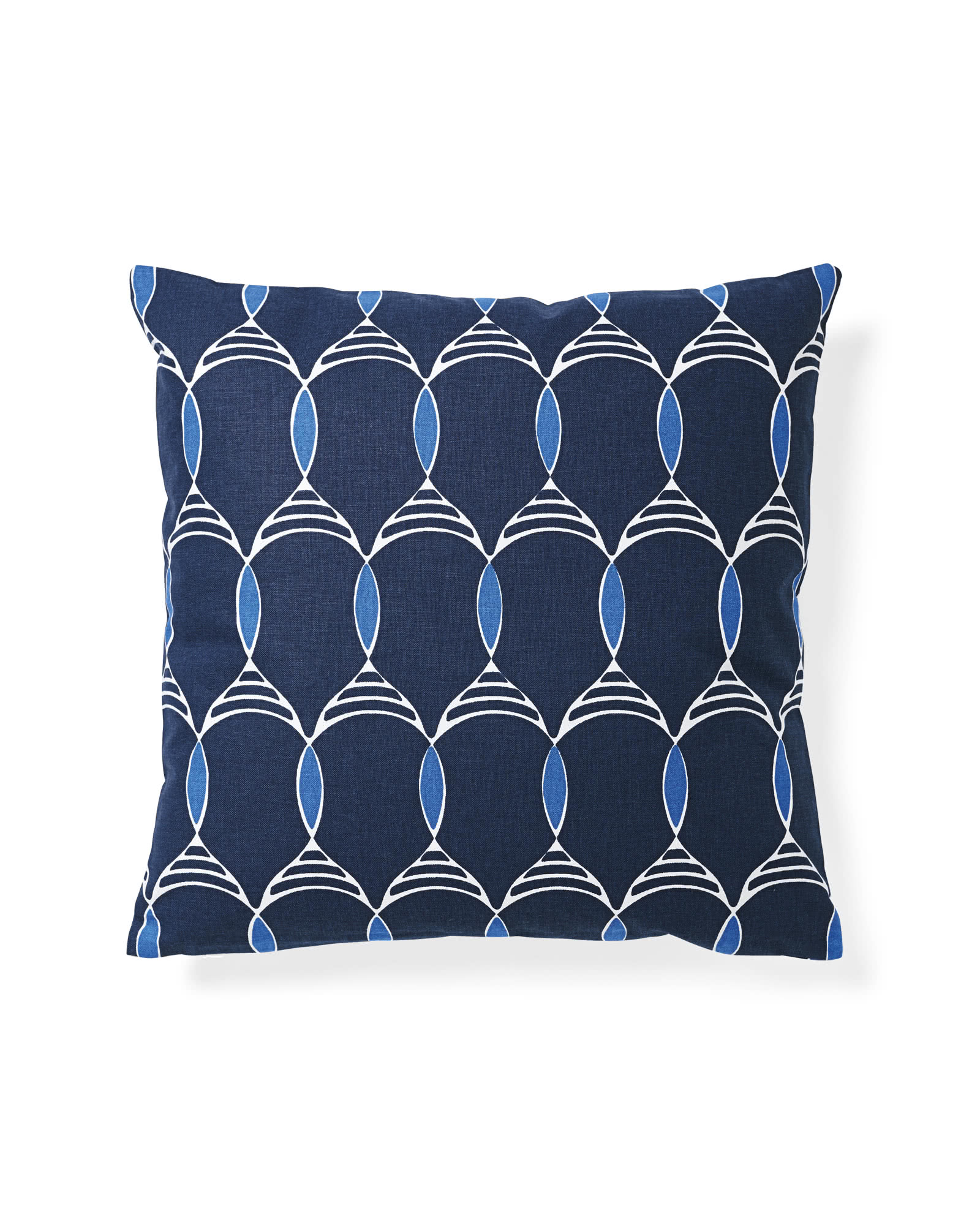 Jules Pillow Cover, Navy