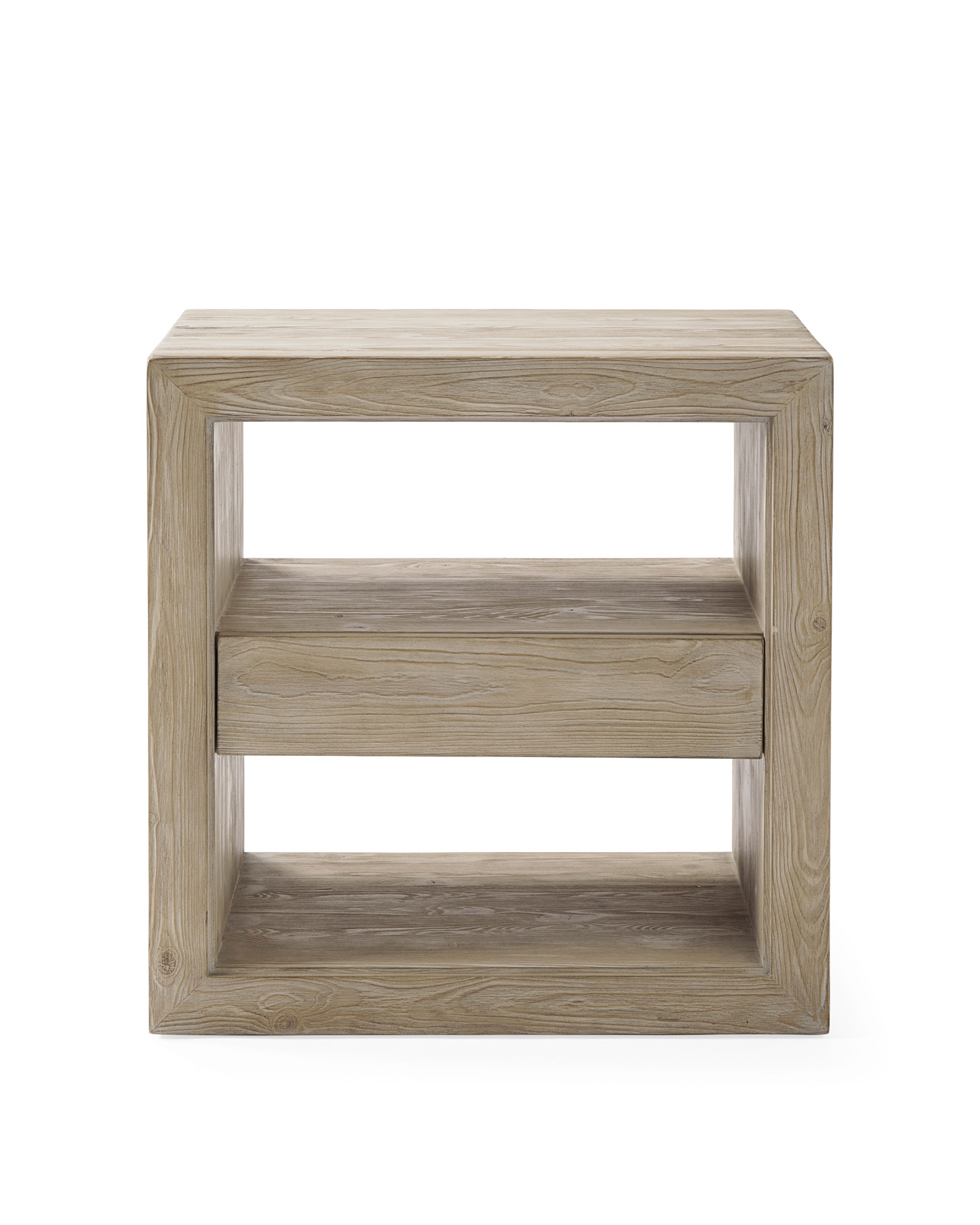 Atelier Nightstand, Sunbleached Pine