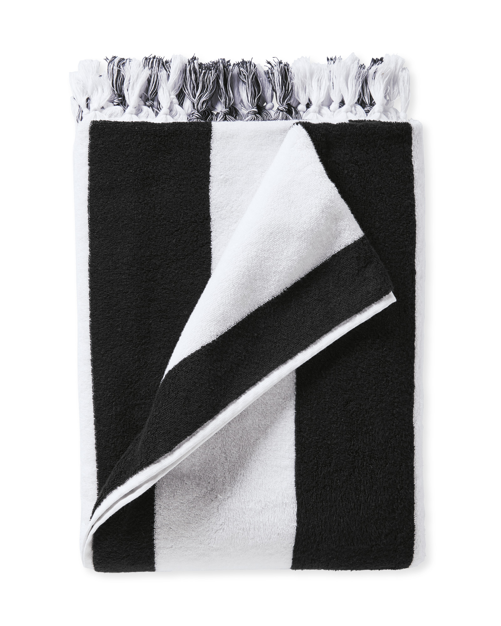Mallorca Beach Towel, Black
