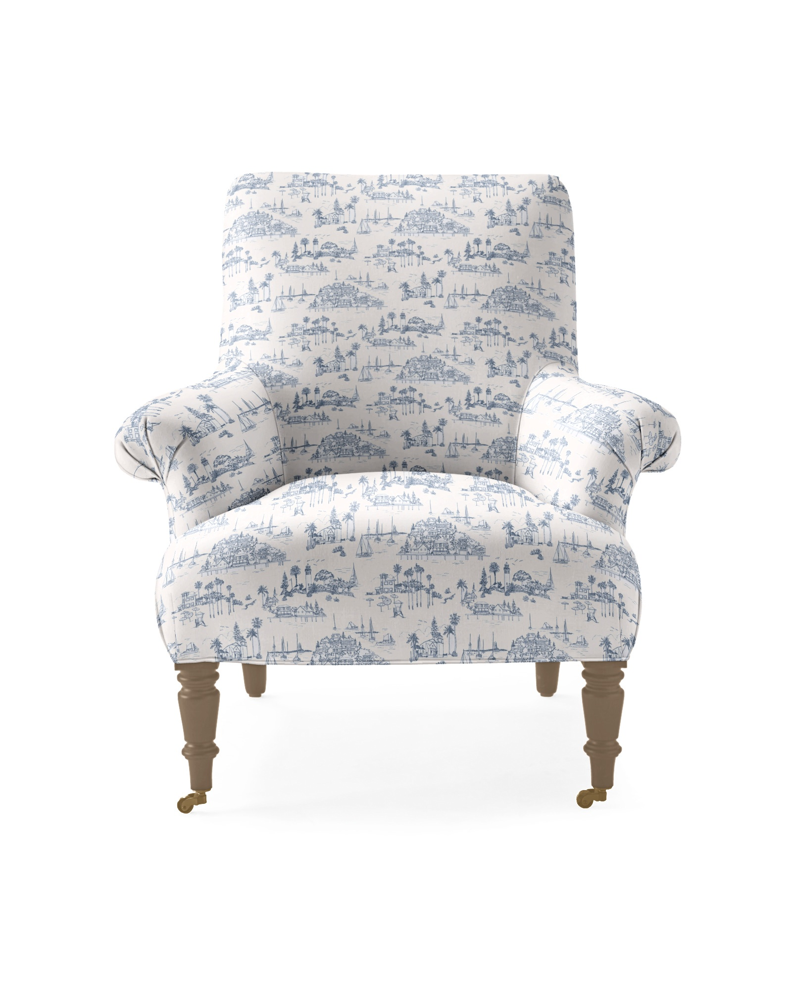 Avignon Chair - Seahaven French Blue Linen,