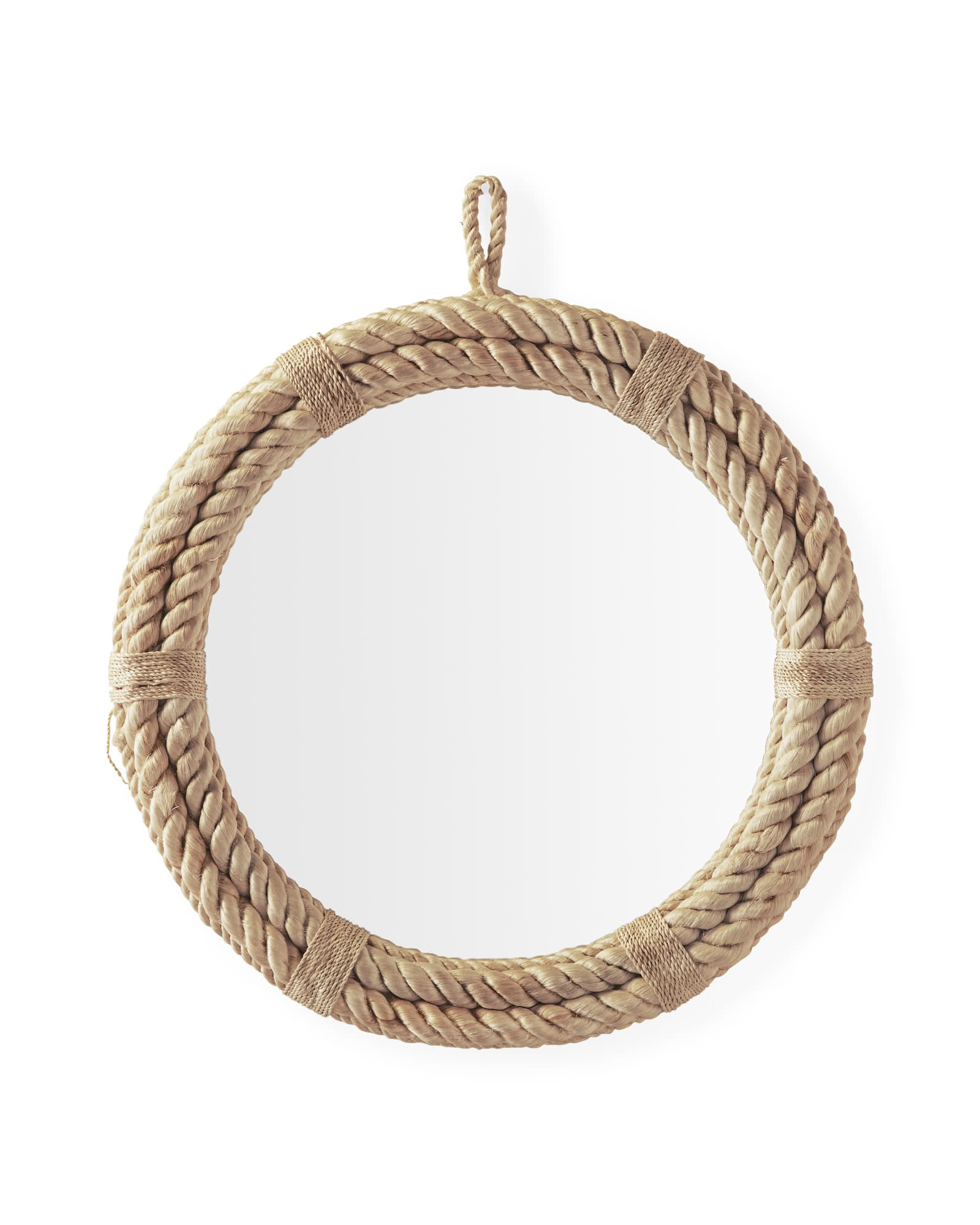 Nautical Rope Mirror,