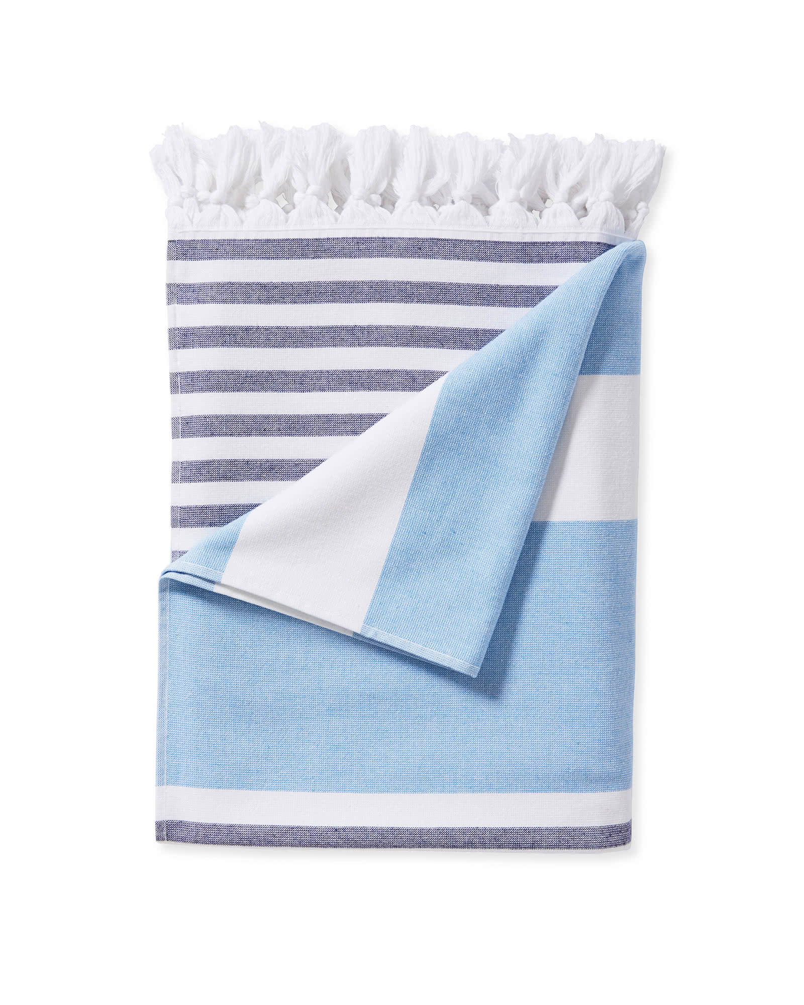 Capri Fouta Beach Towel, Harbor
