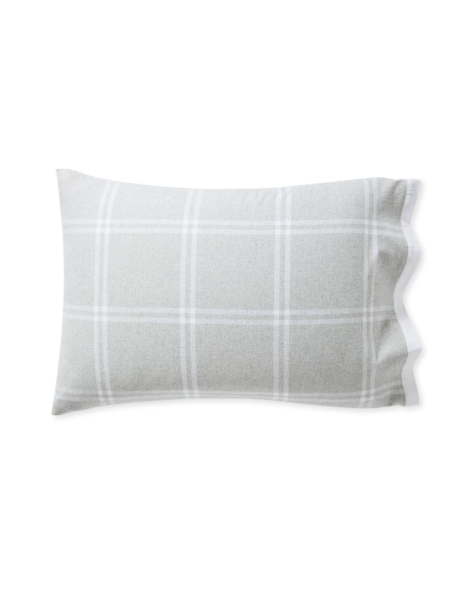 Alpine Flannel Pillowcases (Extra Set of 2), Grey