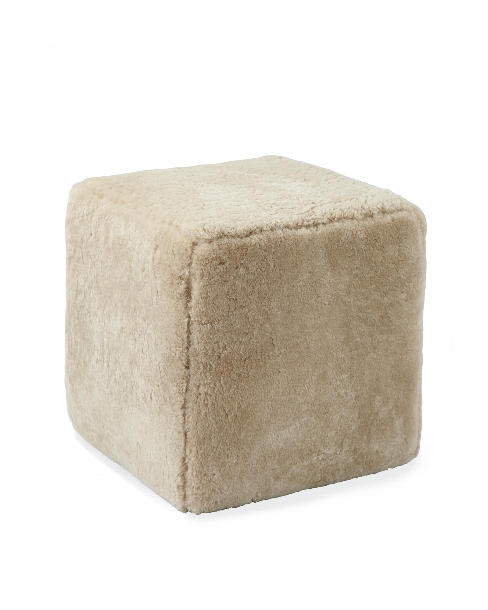 Harrison Swivel Cube – Shearling,