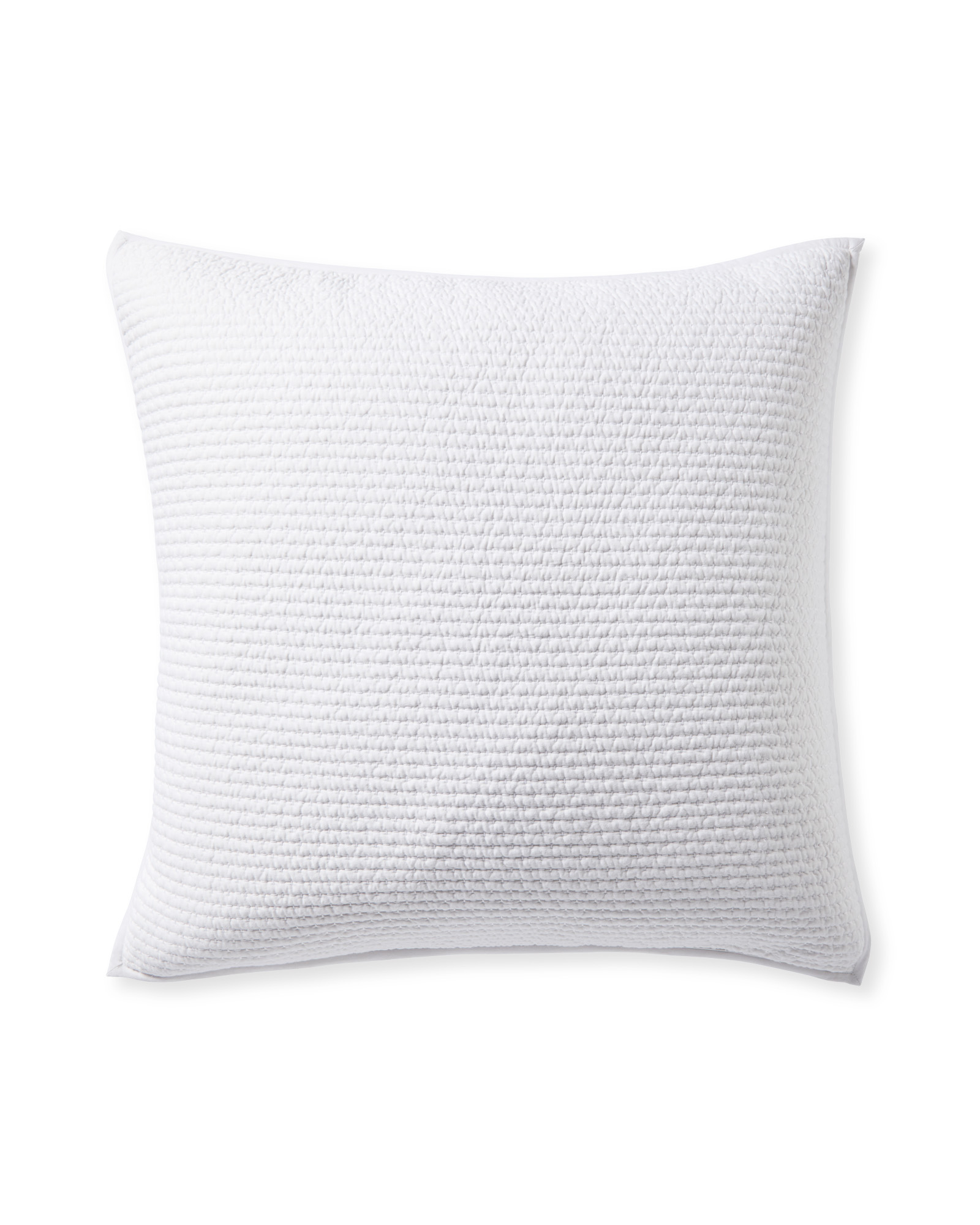 Westwood Quilted Shams, White