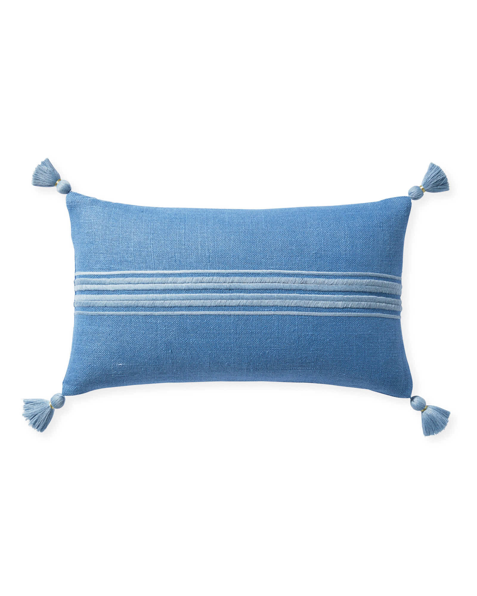 Addie Stripe Tassel Pillow Cover