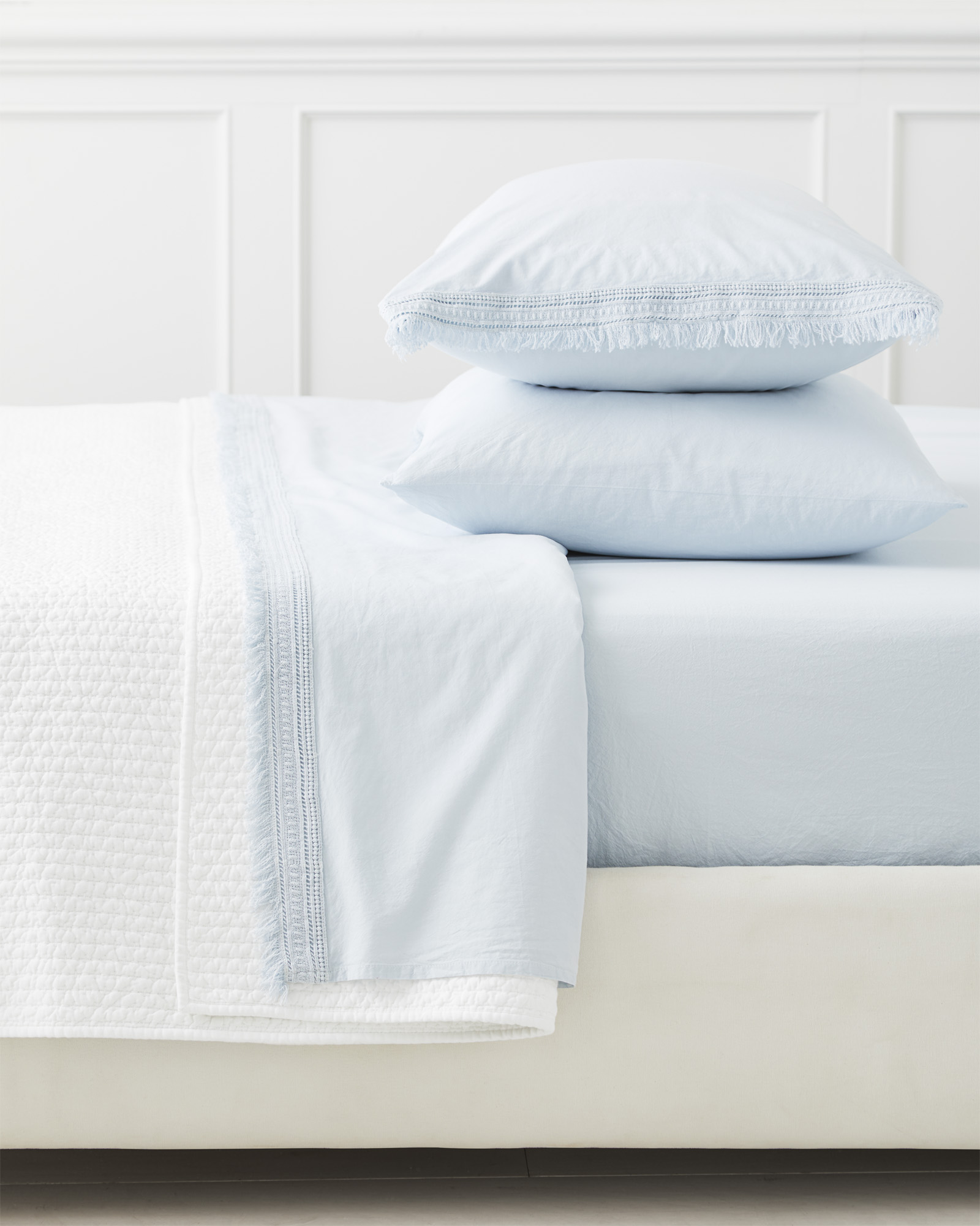 Solana Pillowcases (Extra Set of 2), Sky