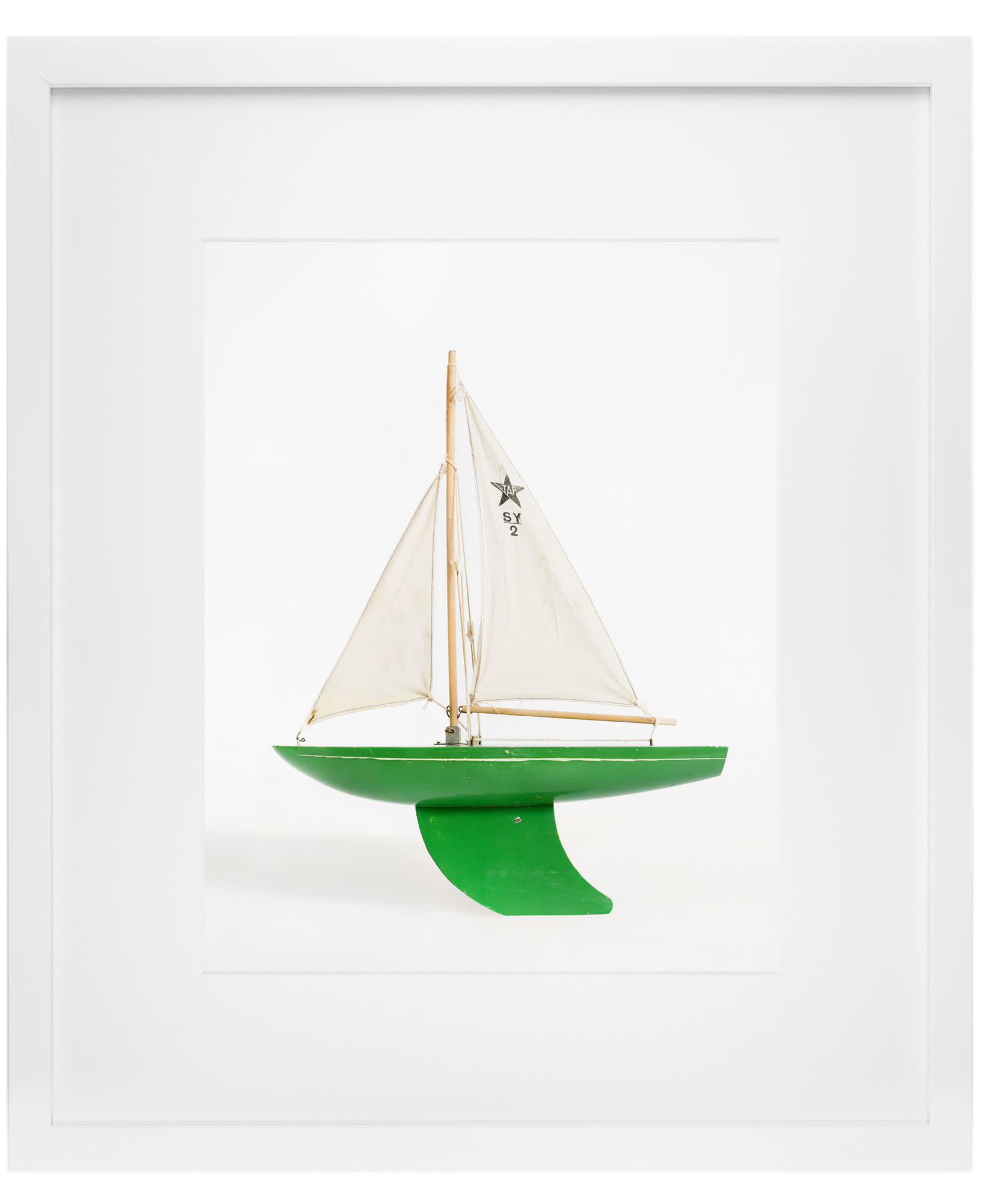 """Green Boat"" by Leslee Mitchell,"