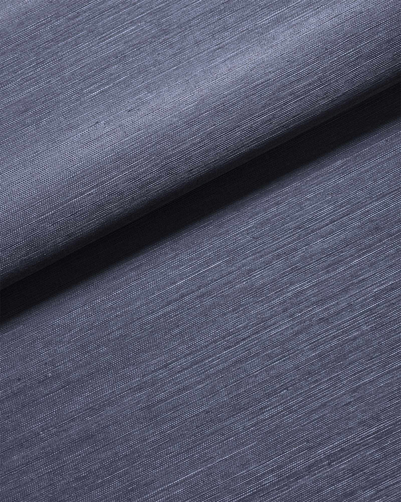 Grasscloth Wallcovering, Navy
