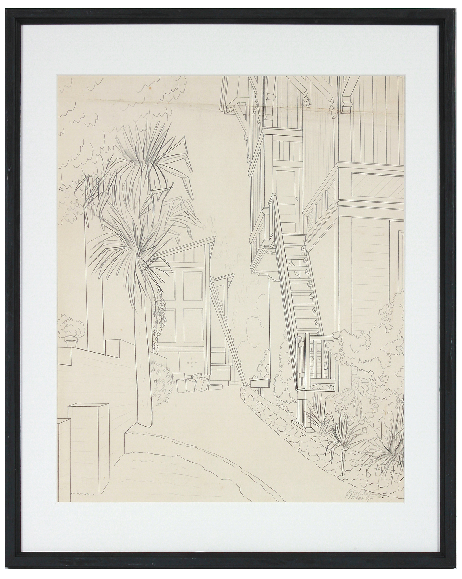"""""""Architectural Apartment Sketch"""" by Calvin Anderson,"""
