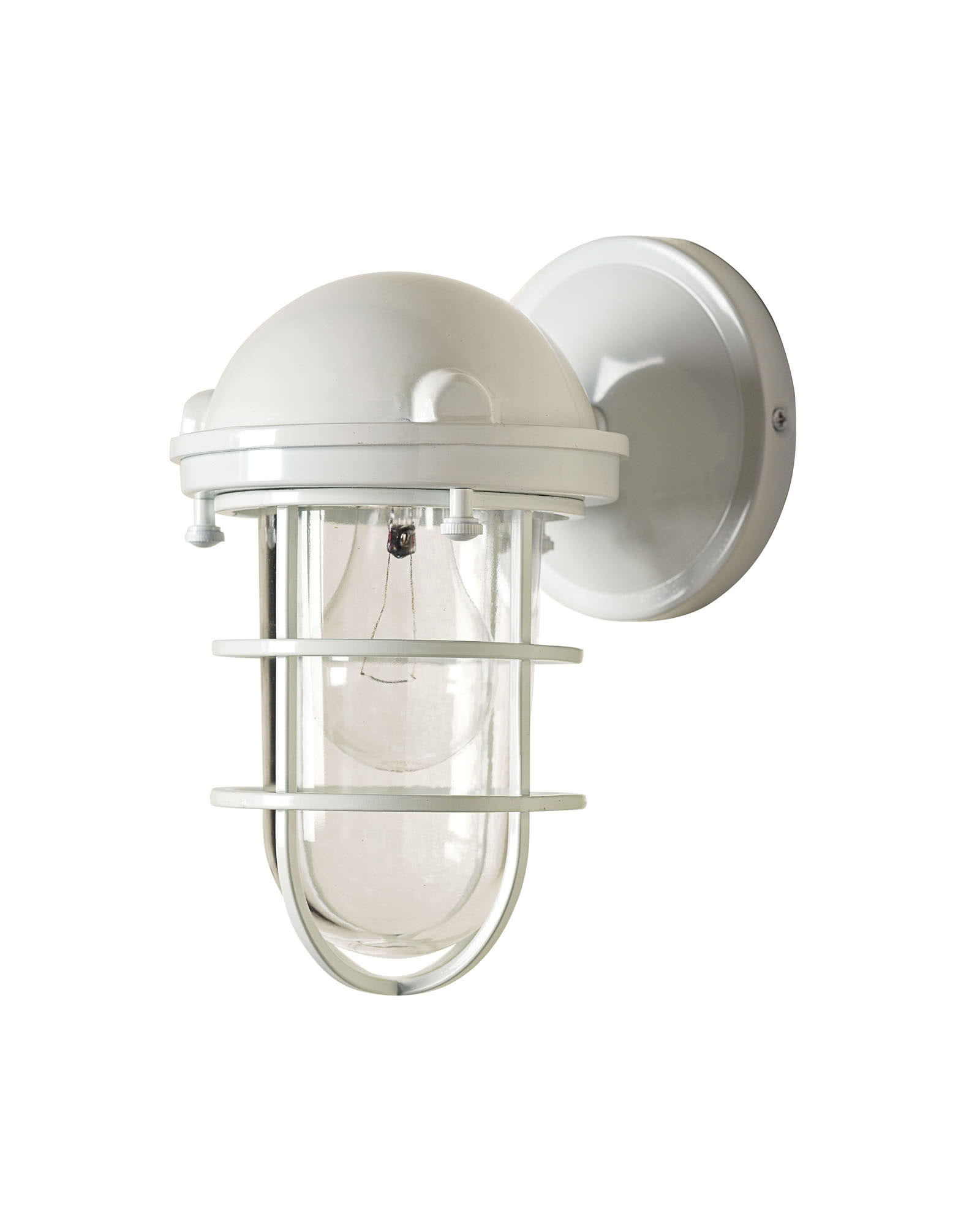 Beacon Sconce, White