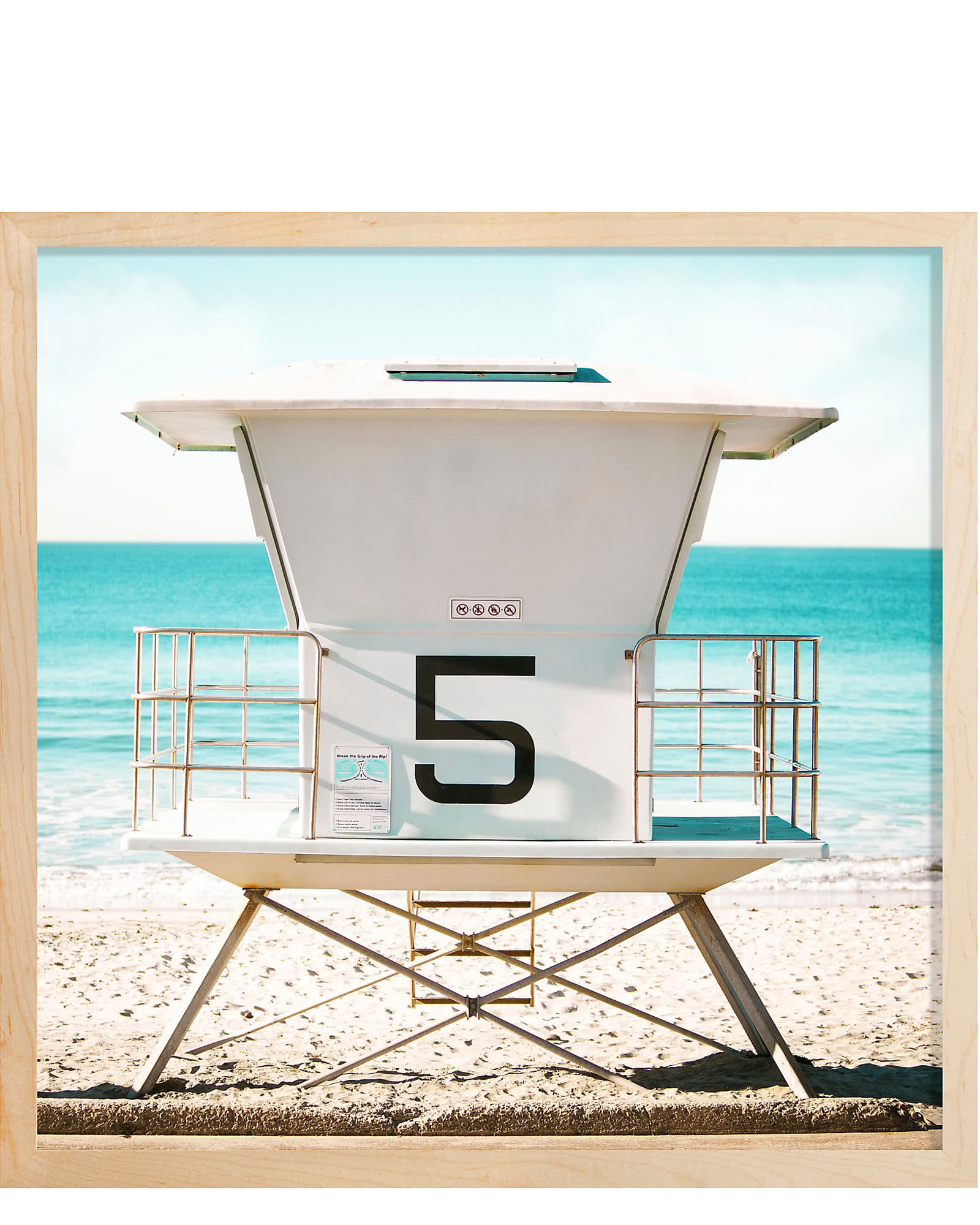 """Lifeguard Stand"" by Stephanie Sherman,"