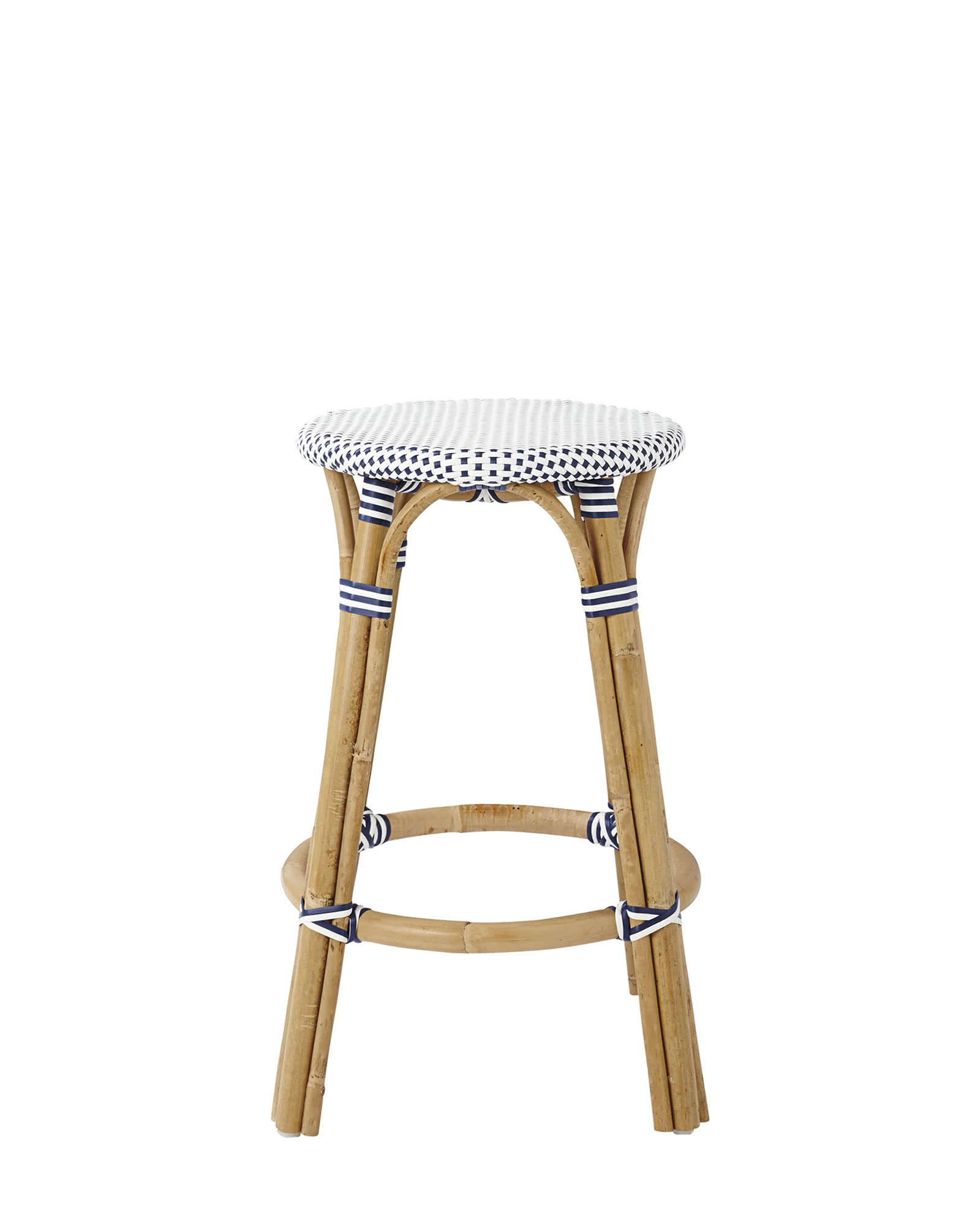 Riviera Backless Barstool,