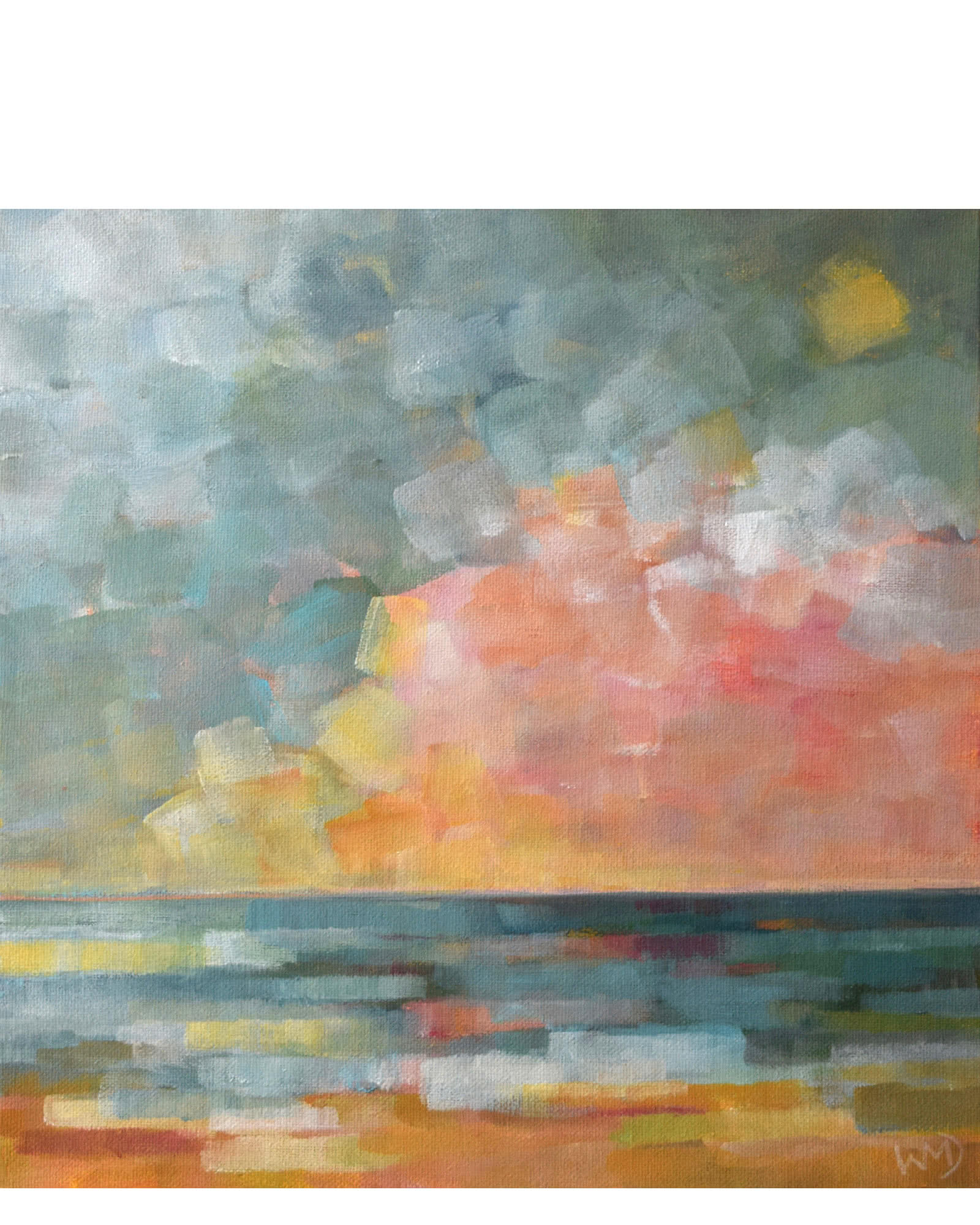 """Sunset Ocean 1"" by Wendy Doak,"