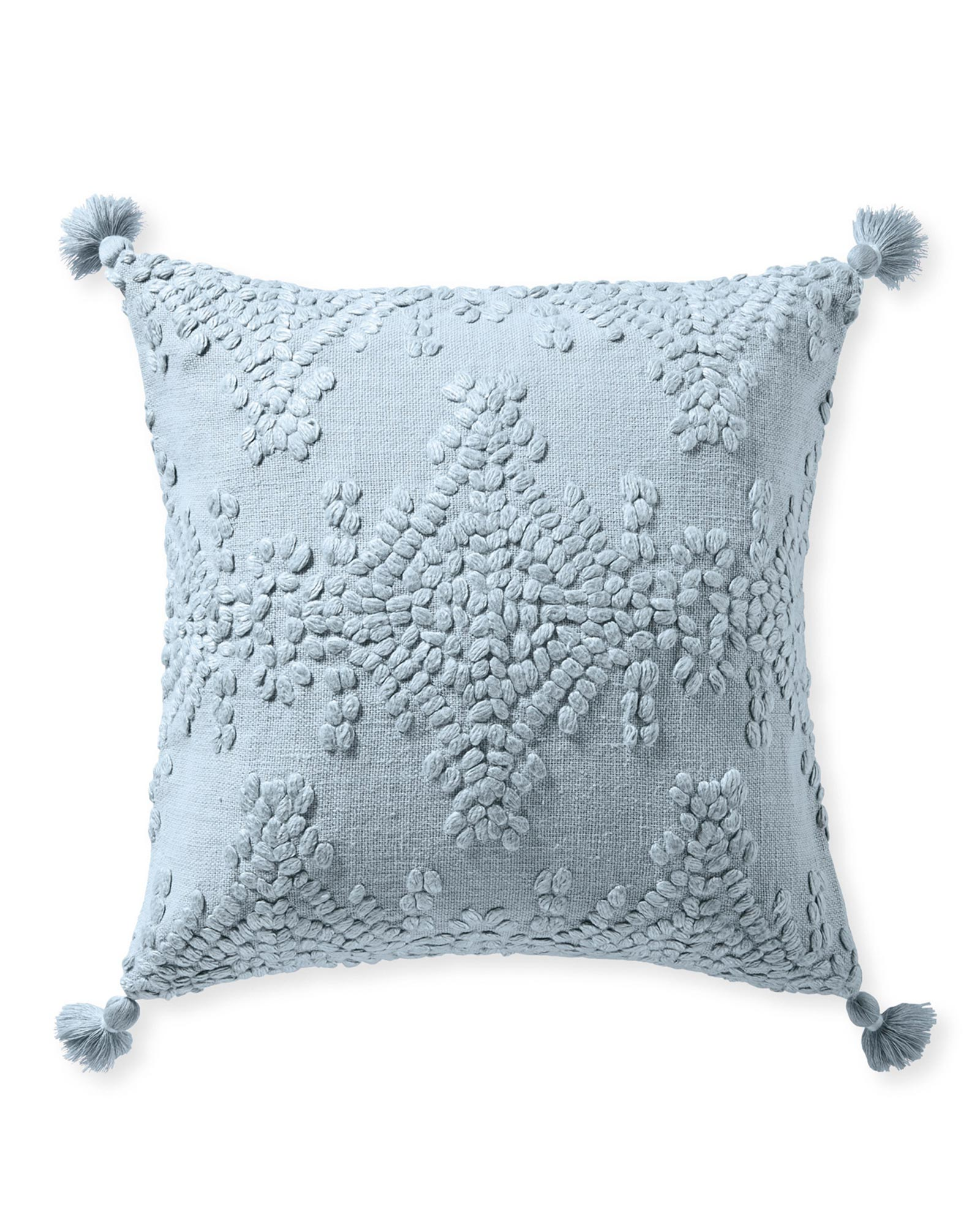Hillview Pillow Cover, Coastal Blue