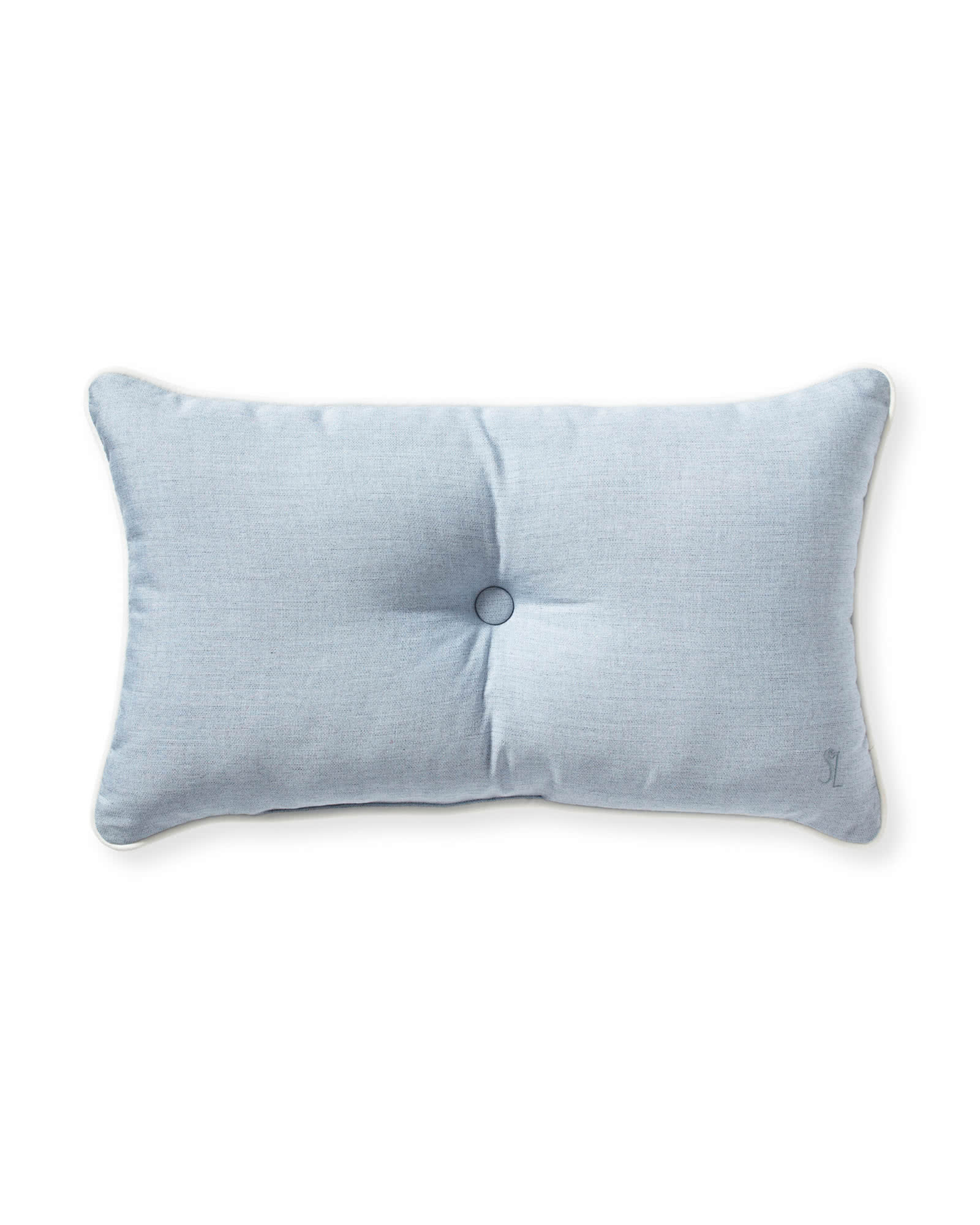 Sunbrella® Lido Pillow, Coastal Blue