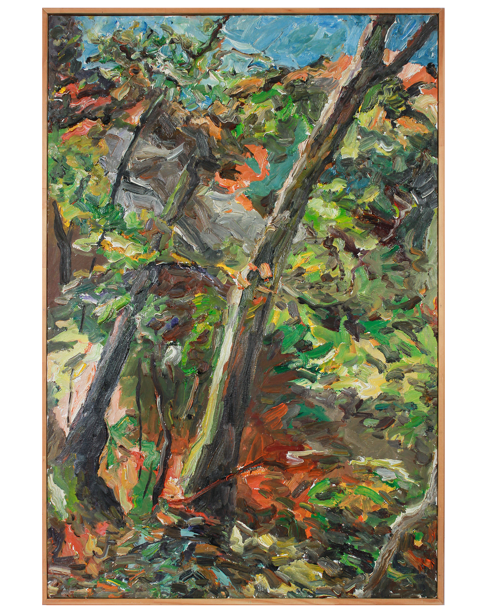 """""""Expressionist California Forest"""" by Jack Freeman,"""
