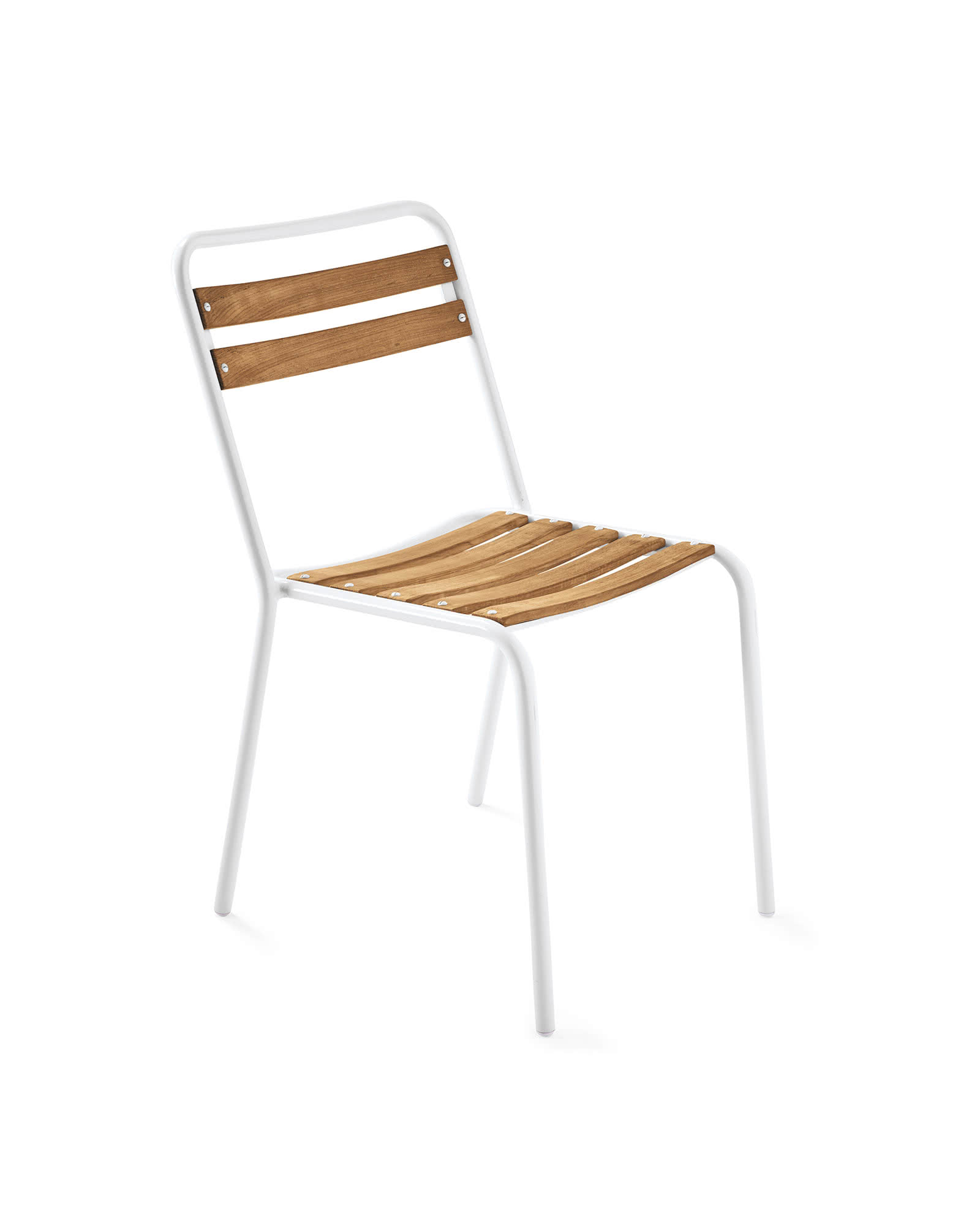 Inverness Outdoor Side Chair, White