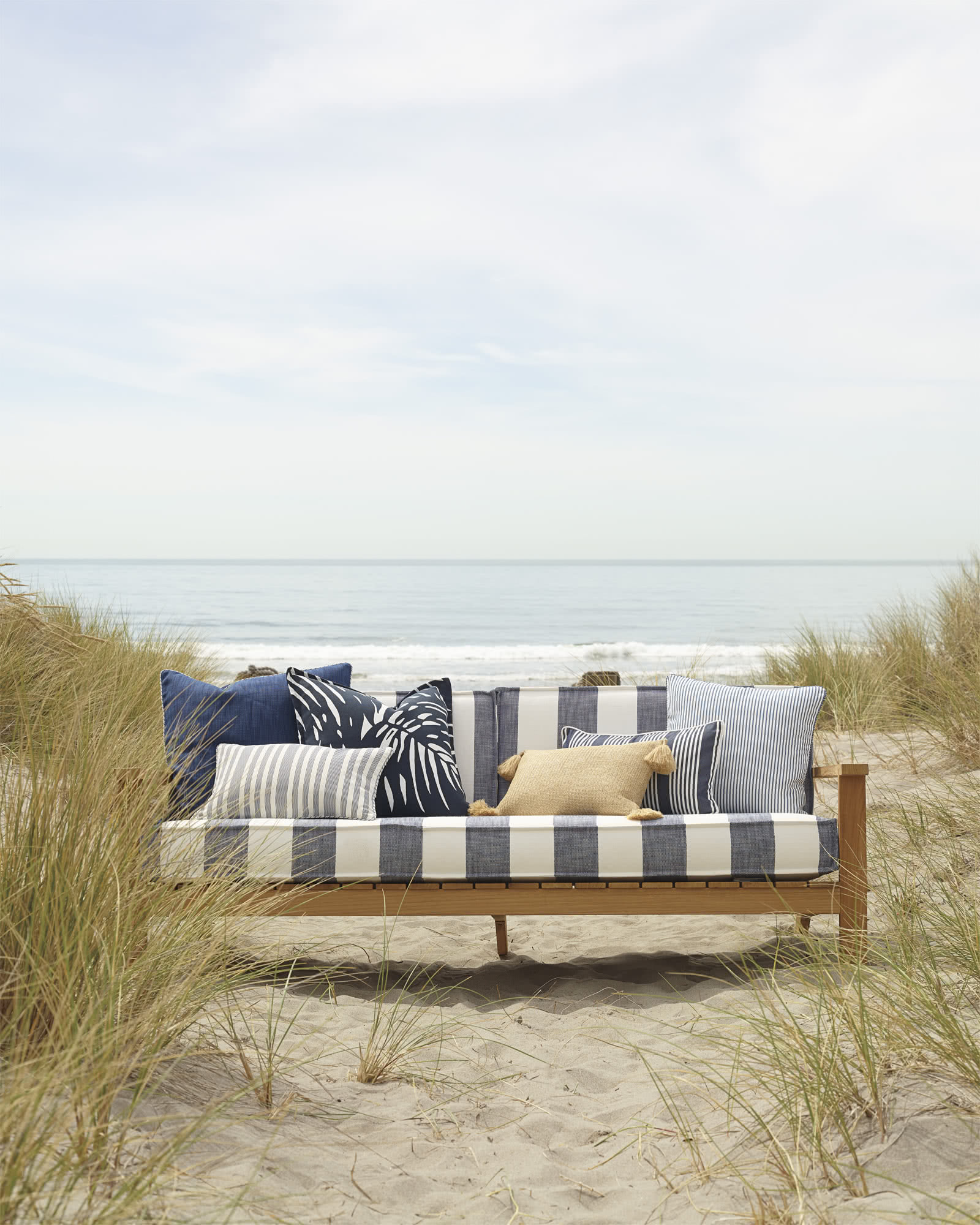 Perennials® Pinstripe Outdoor Pillow Cover,