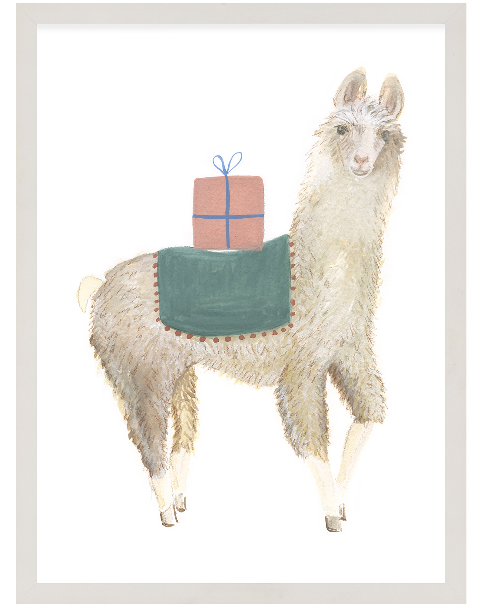 """Party Animals - Llama"" by Fours Are Yellow,"
