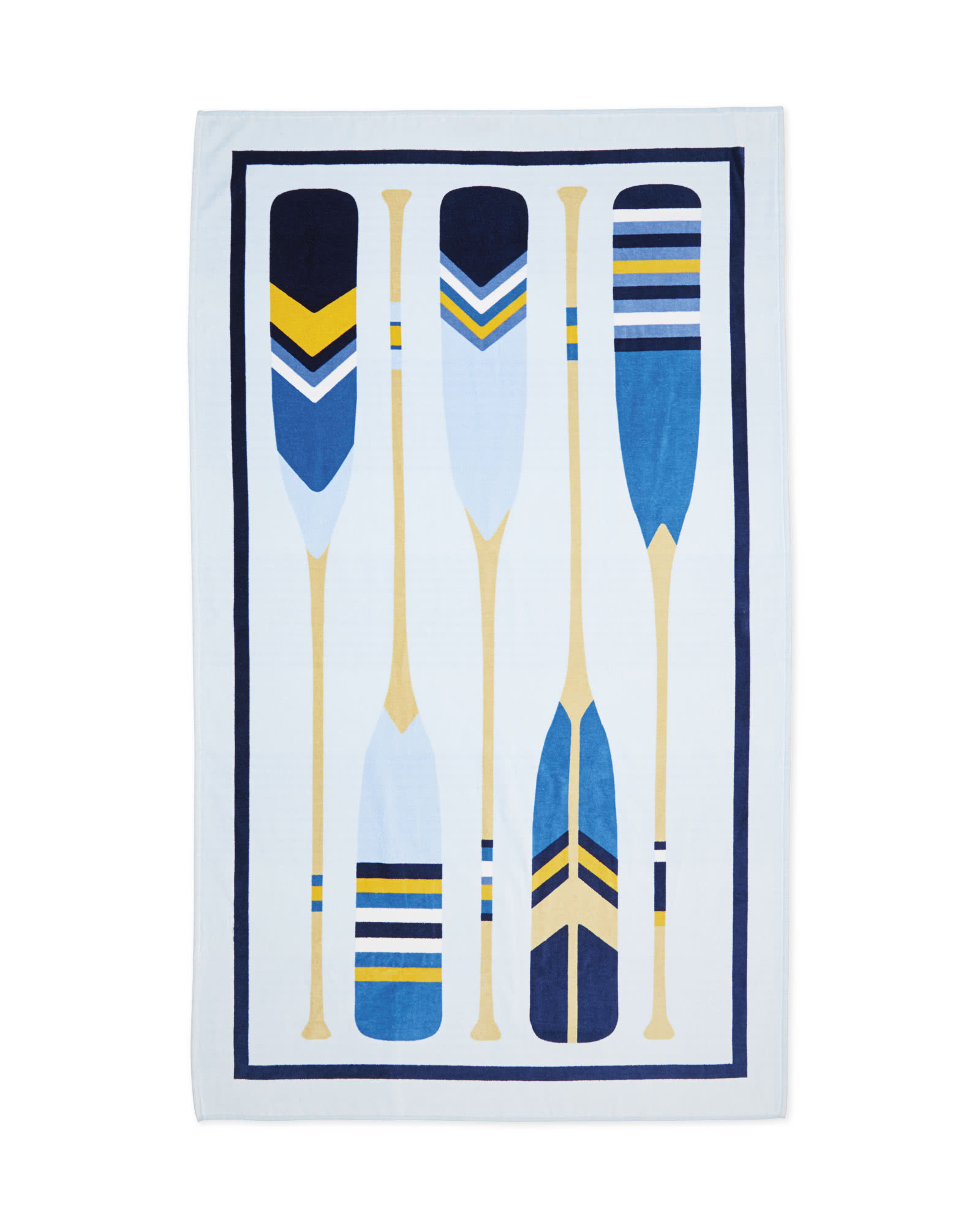 Outrigger Beach Towel,