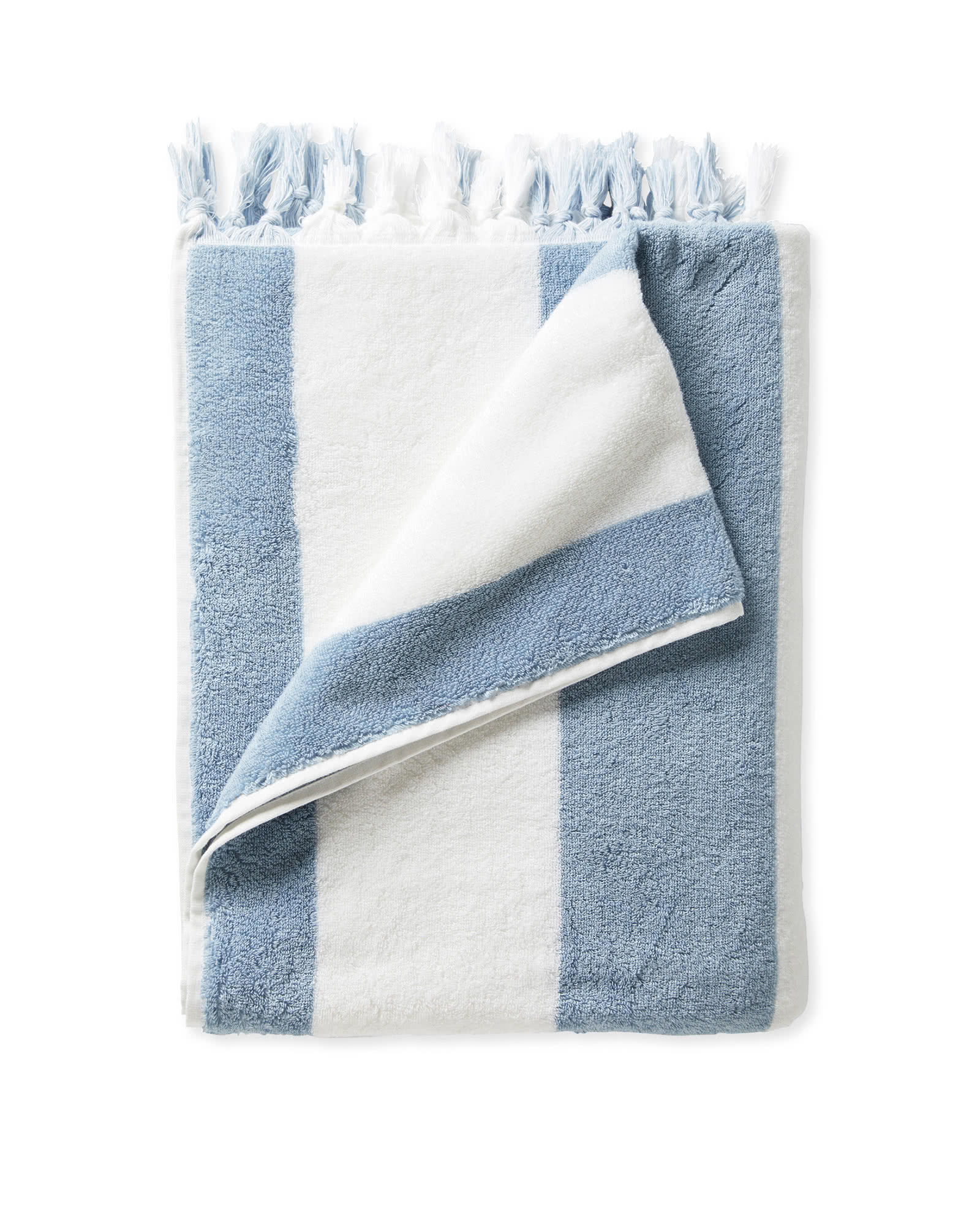 Mallorca Beach Towel, Coastal Blue