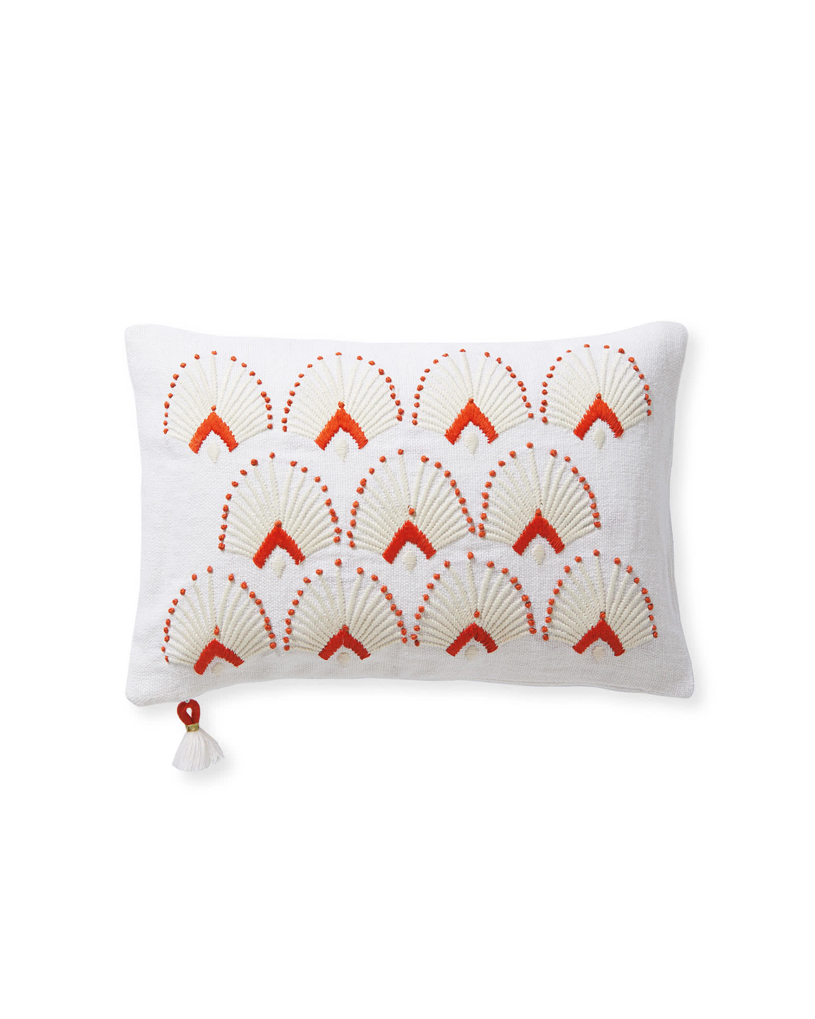 Monarch Pillow Cover, Papaya