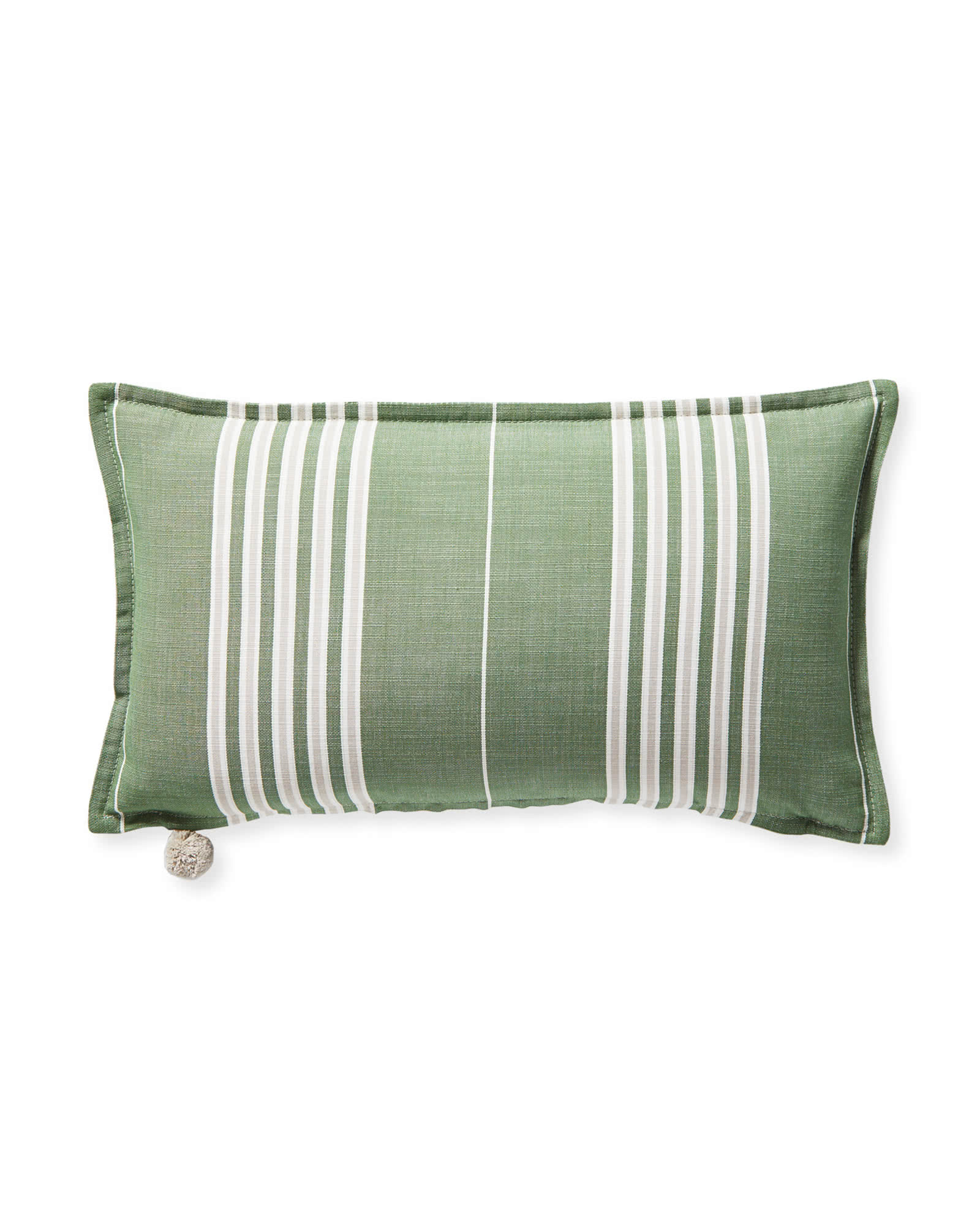 Perennials® Lake Stripe Pillow Cover, Green
