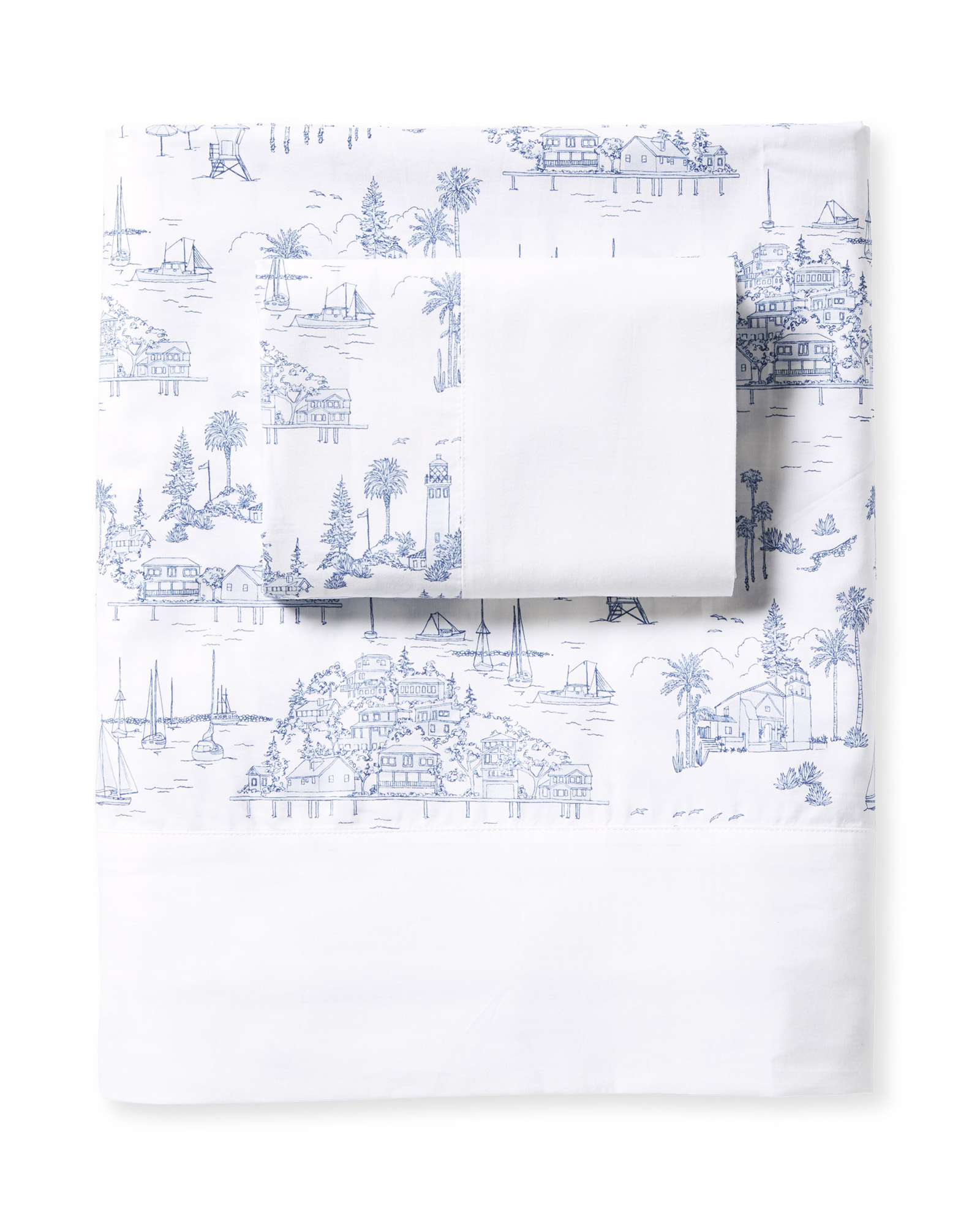 Seahaven Sheet Set, French Blue