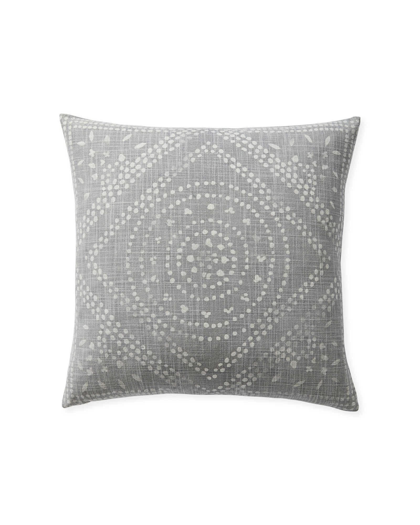 Camille Diamond Medallion Pillow Cover - Charming European Country Interior Design Inspiration & Inspiring June Favorites With Photos of Beautiful Interiors As Well As Ideas for Where to Shop.