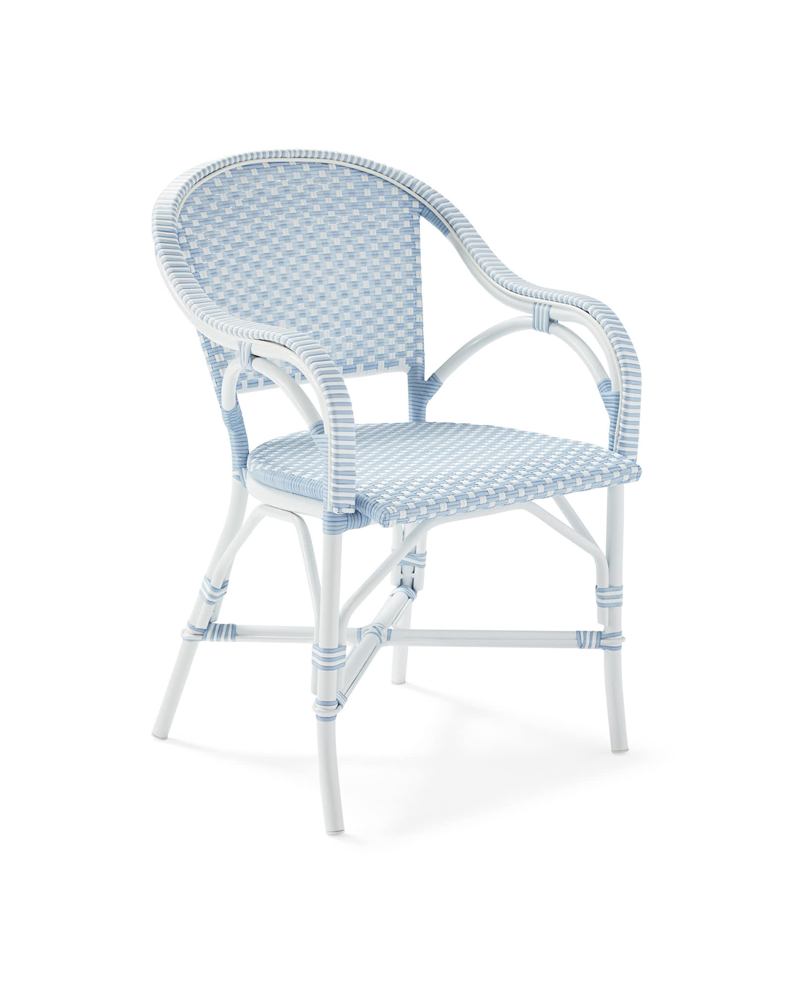 Outdoor Riviera Dining Chair, Atlantic