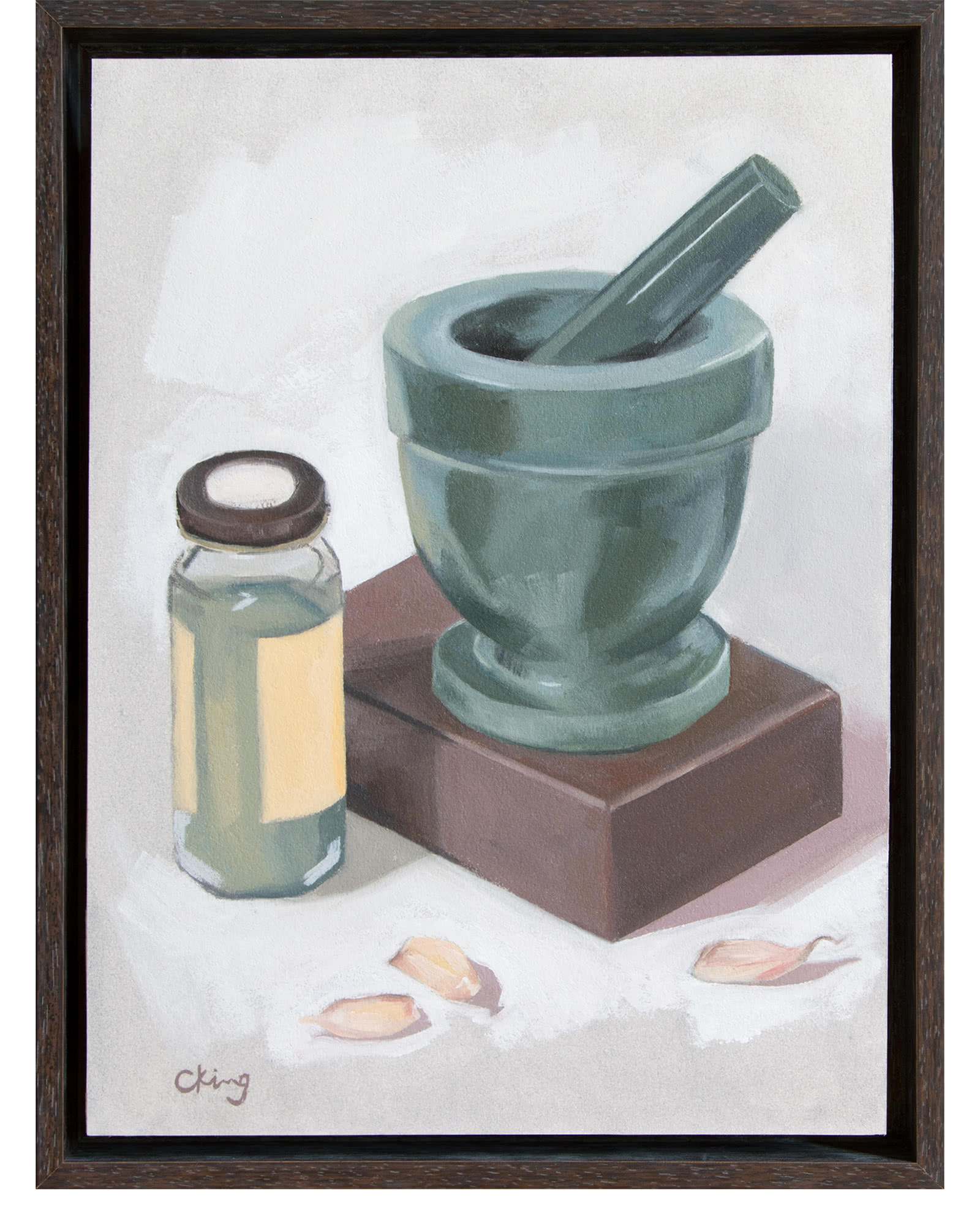 """""""Mortar and Pestle"""" by Christy King,"""