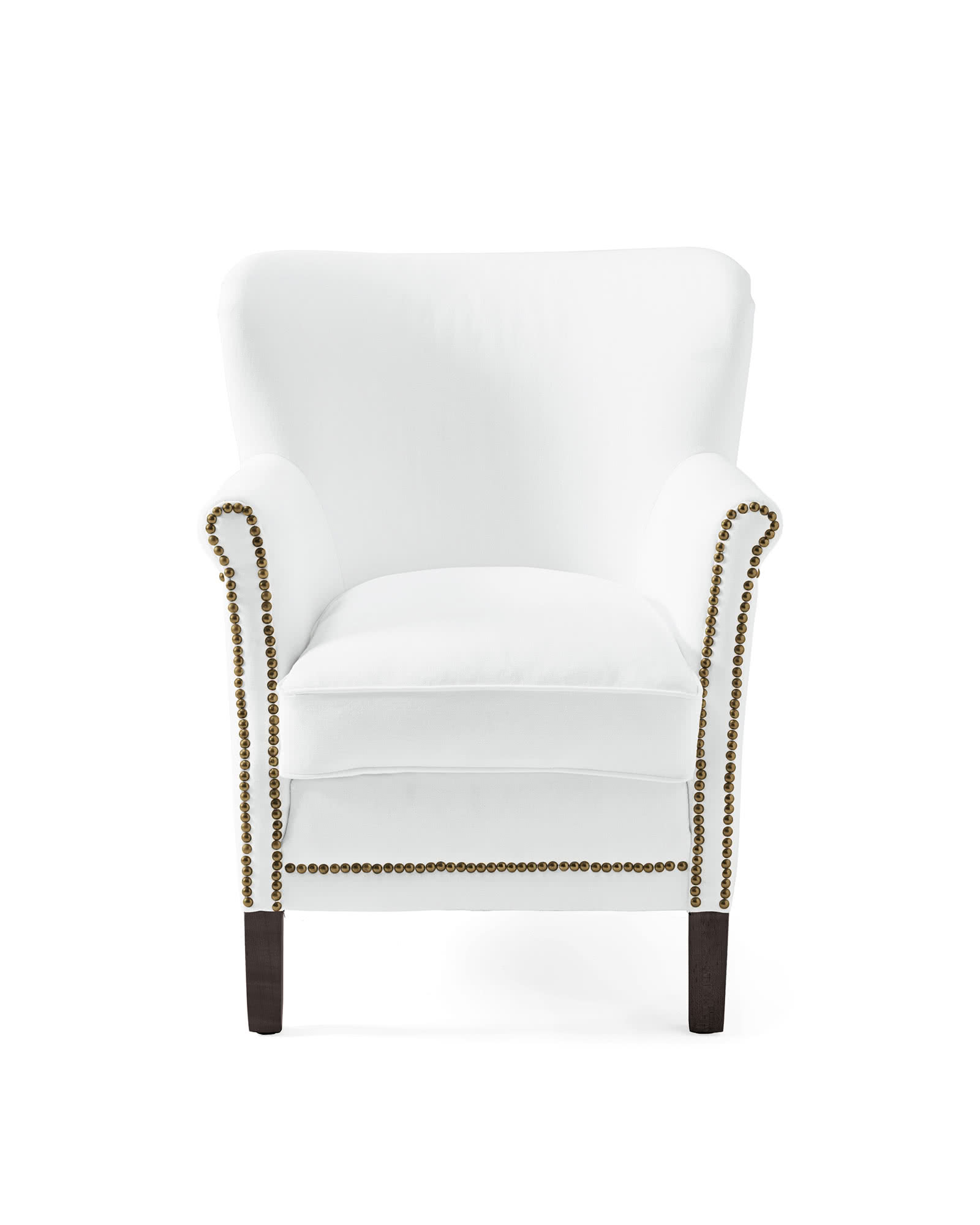 Belgian Club Chair with Nailheads,